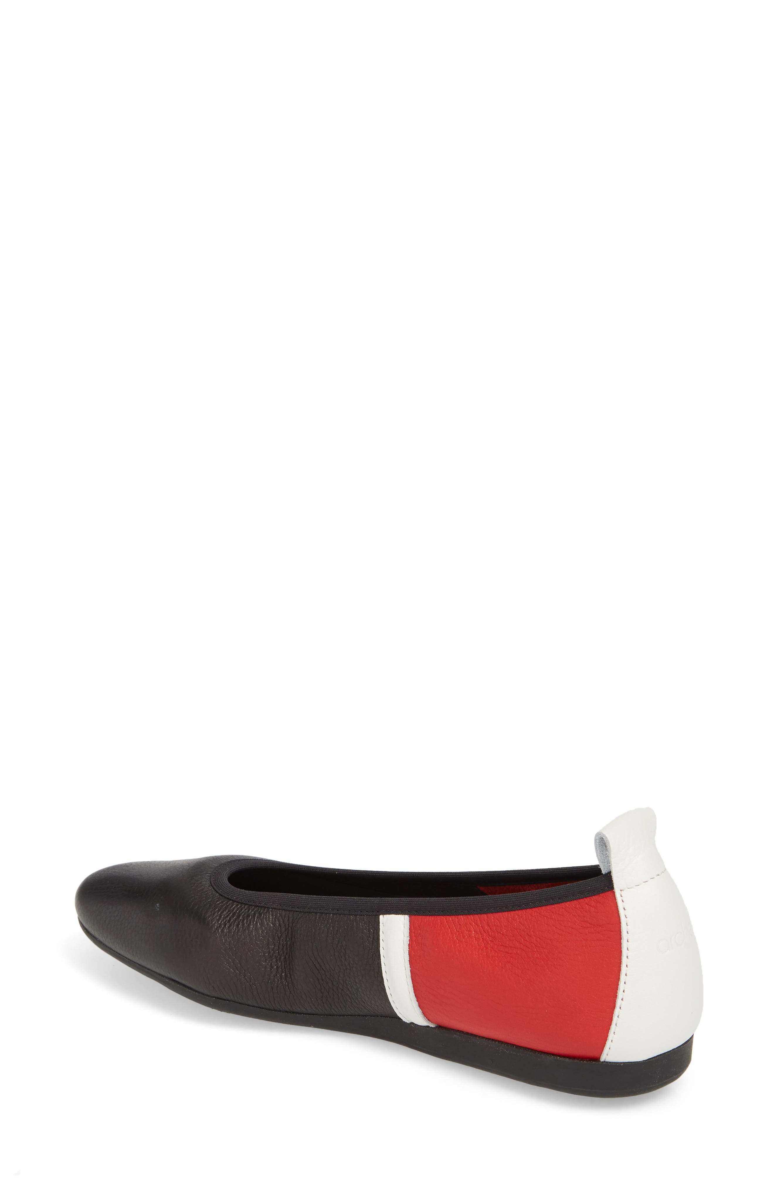 Lamour Rocky Colorblock Flat,                             Alternate thumbnail 2, color,                             600