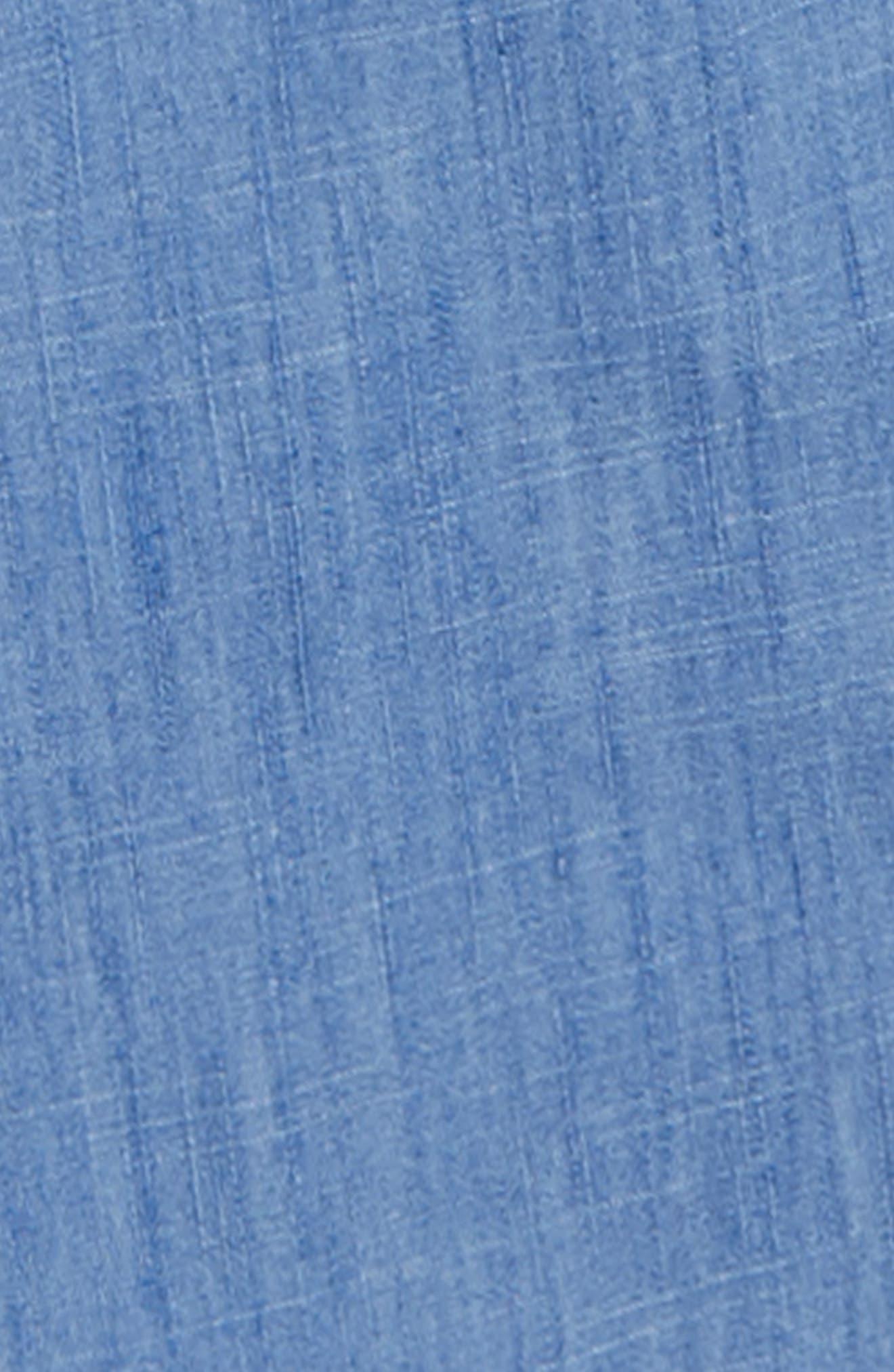 Frill Jumpsuit,                             Alternate thumbnail 3, color,                             PRP INDIGO CHAMBRAY