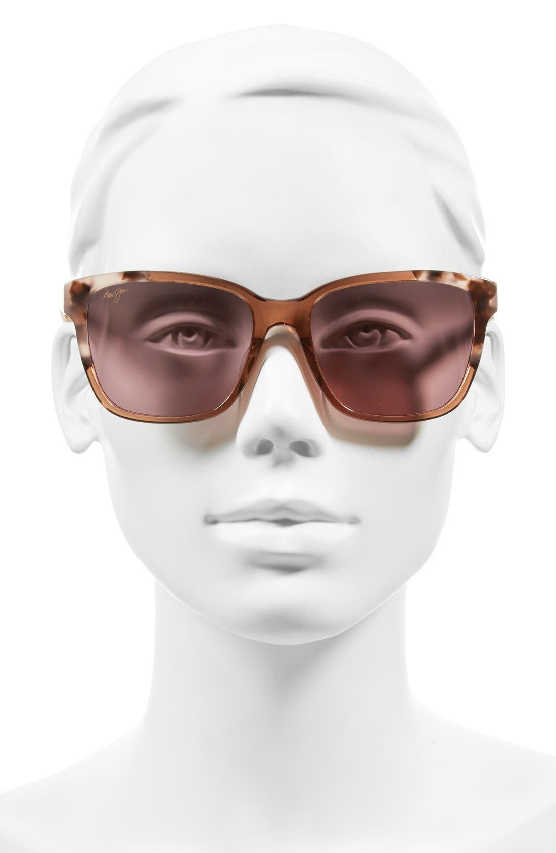 Moonbow 57mm PolarizedPlus2<sup>®</sup> Sunglasses,                             Alternate thumbnail 8, color,