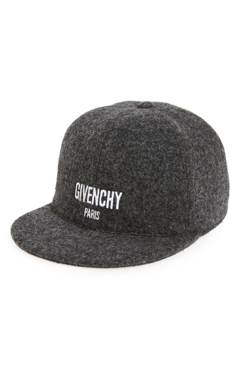 Givenchy Felt Logo Ball Cap  7753a9b52f2