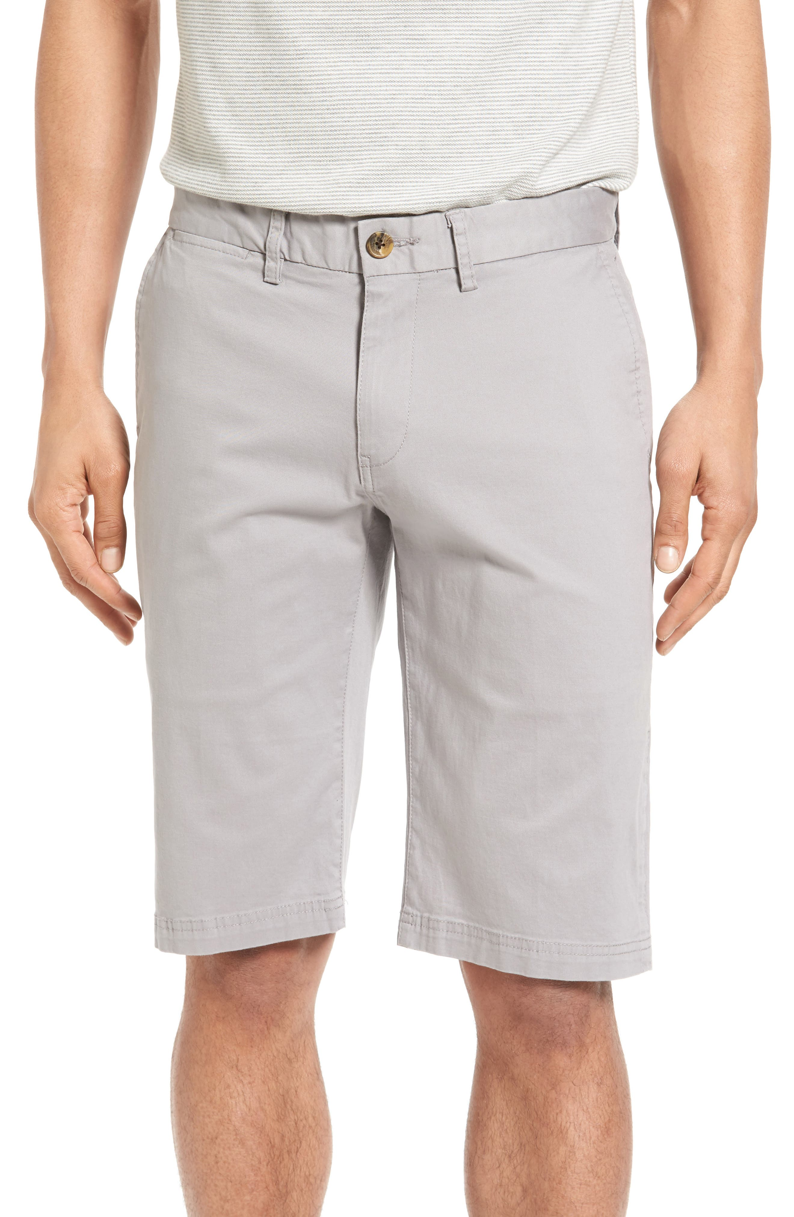 Slim Stretch Chino Shorts,                         Main,                         color, 020