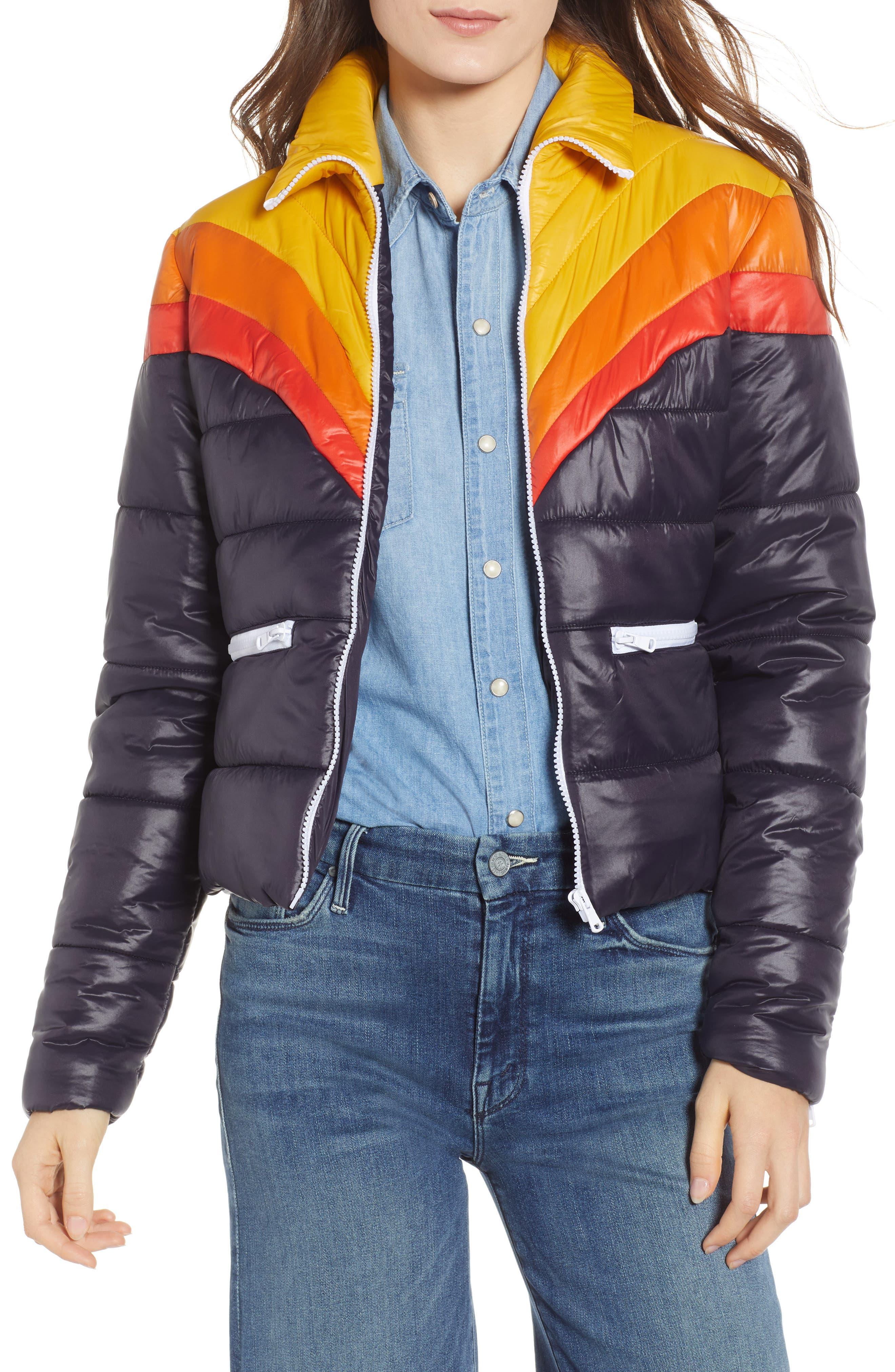Early Riser Puffer Coat, Main, color, 460