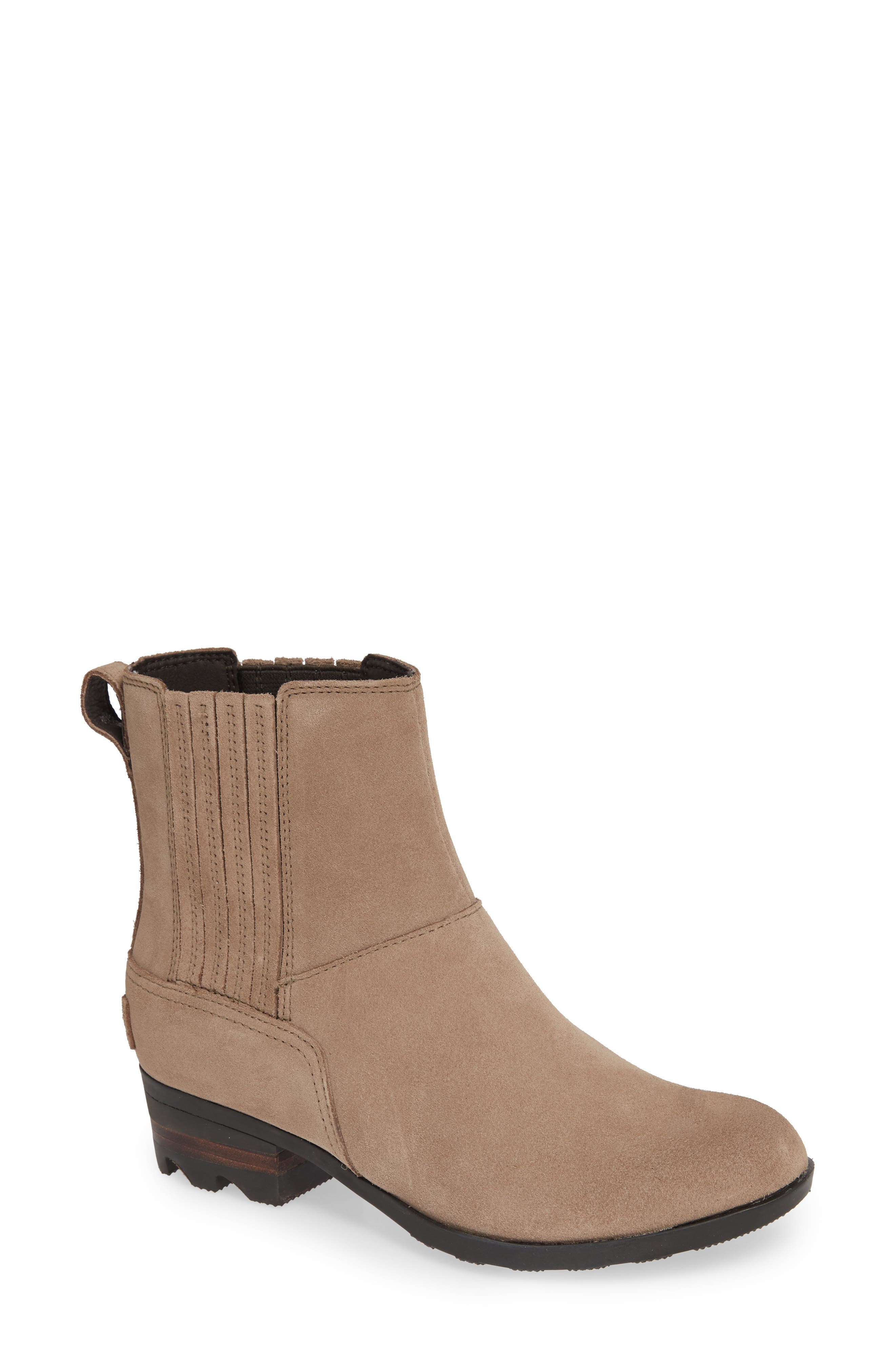 Sorel Lolla Chelsea Bootie- Brown