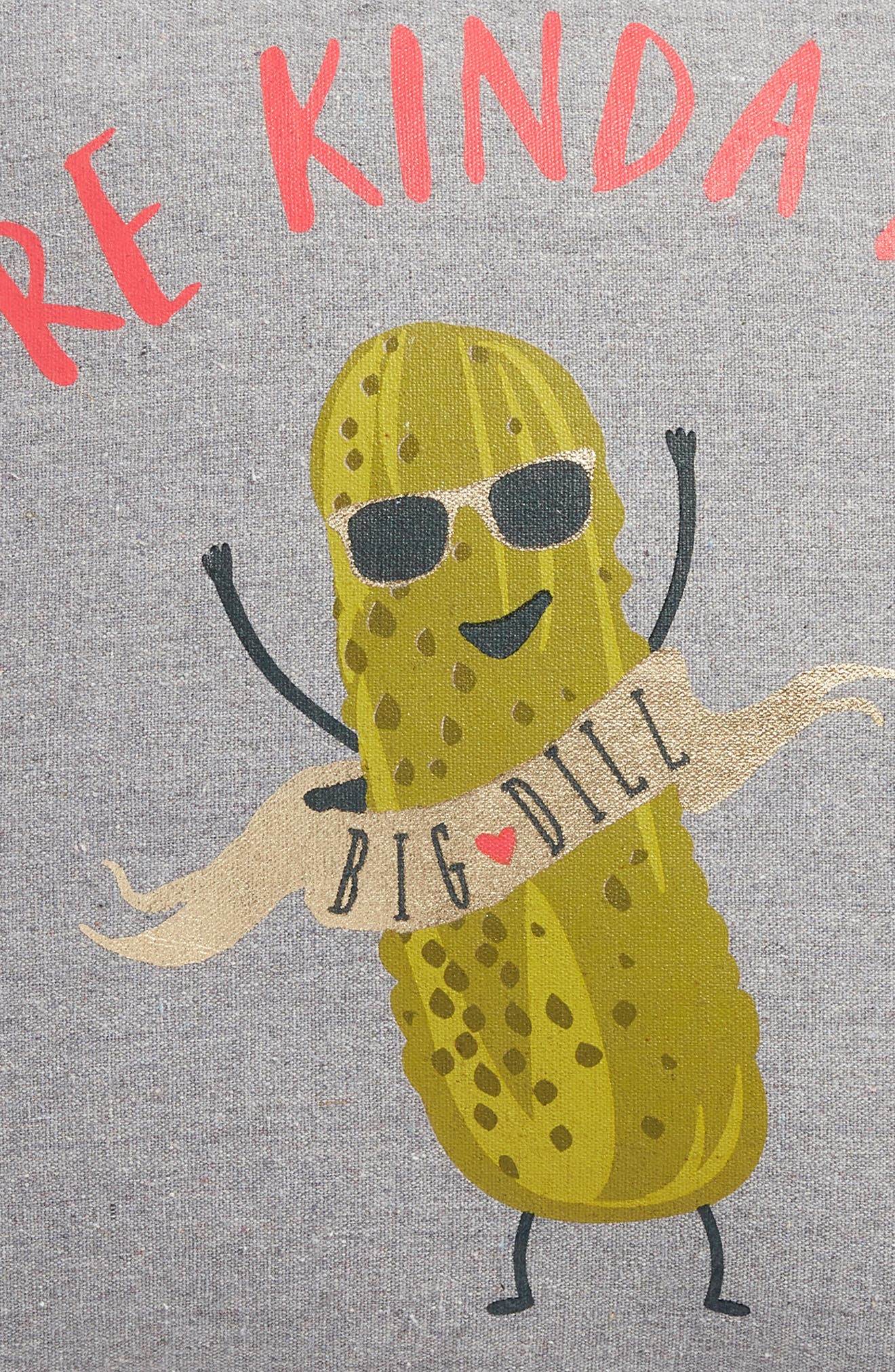 Big Dill Accent Pillow,                             Alternate thumbnail 3, color,                             020