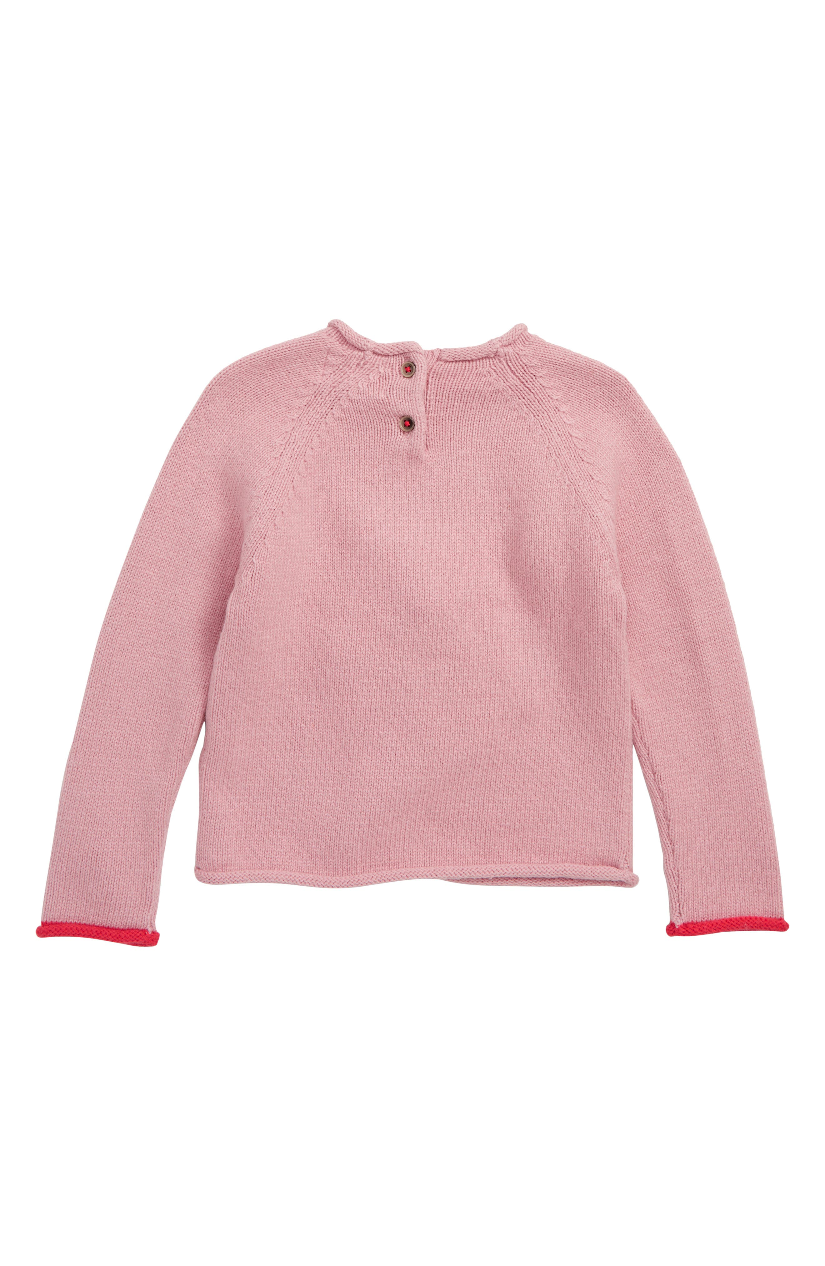 Christmas Day Sweater,                             Alternate thumbnail 2, color,                             VINTAGE PINK FATHER CHRISTM