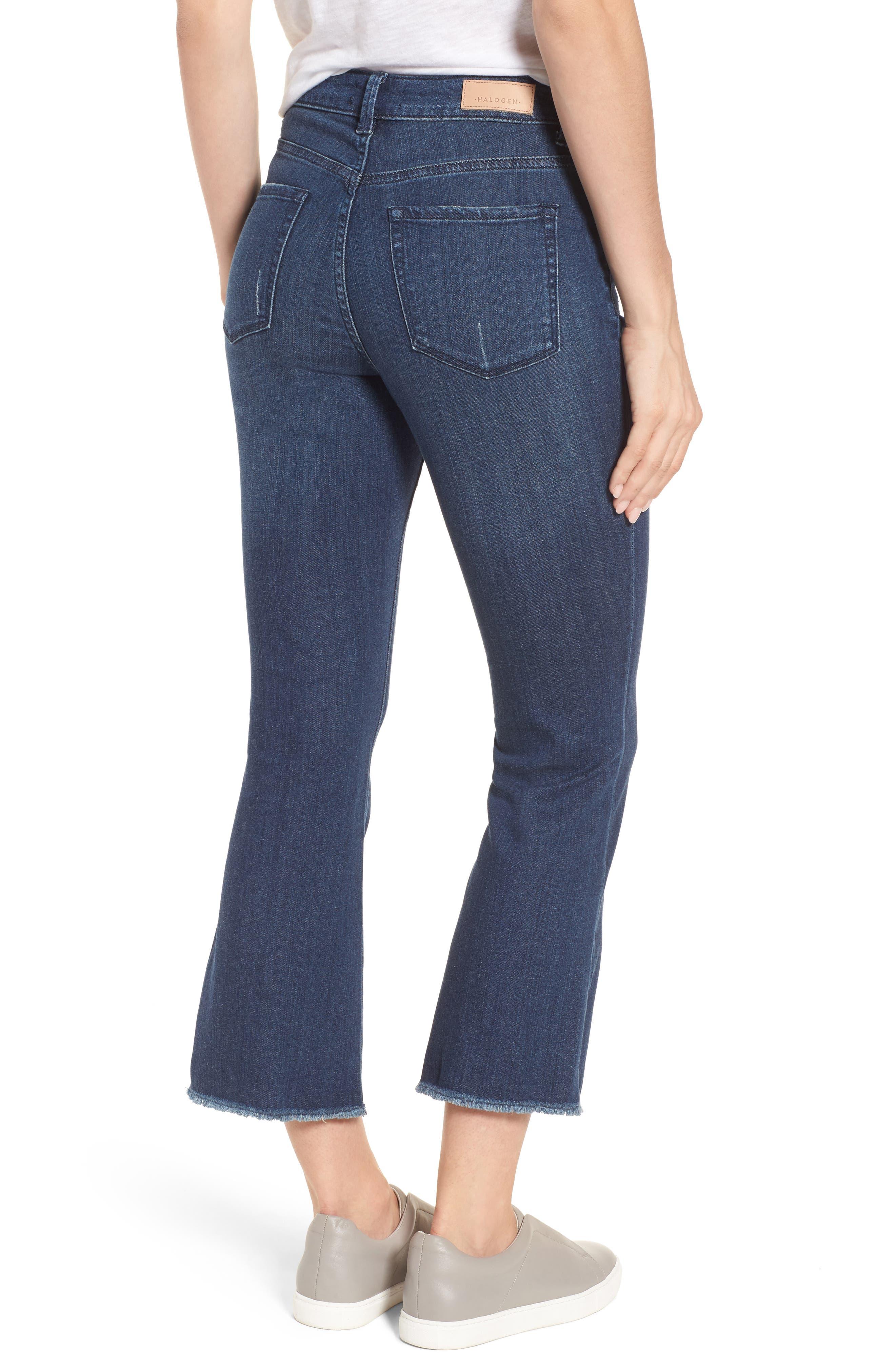 Kick Flare Jeans,                             Alternate thumbnail 2, color,                             400