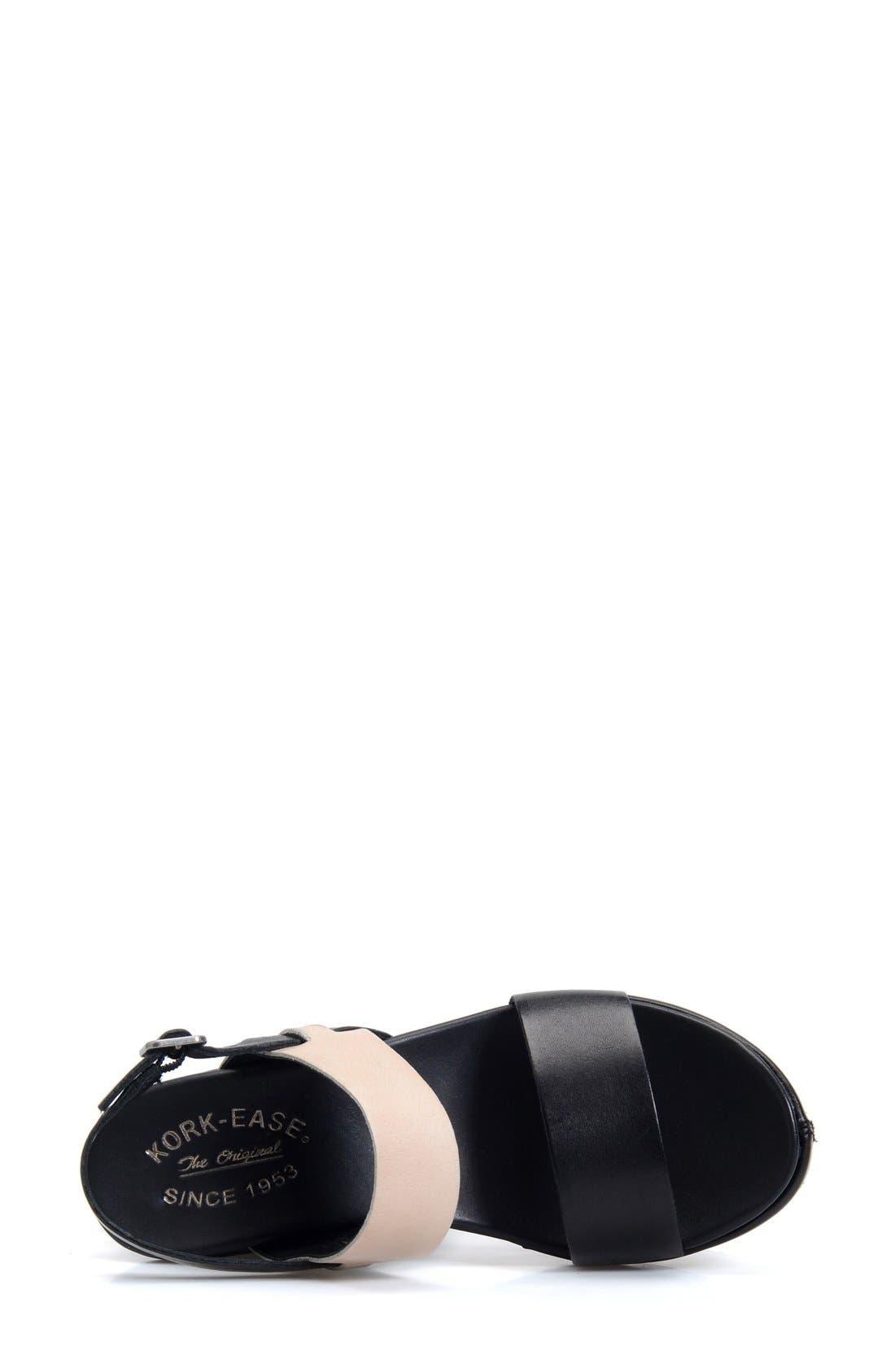 'Austin' Slingback Wedge Sandal,                             Alternate thumbnail 24, color,