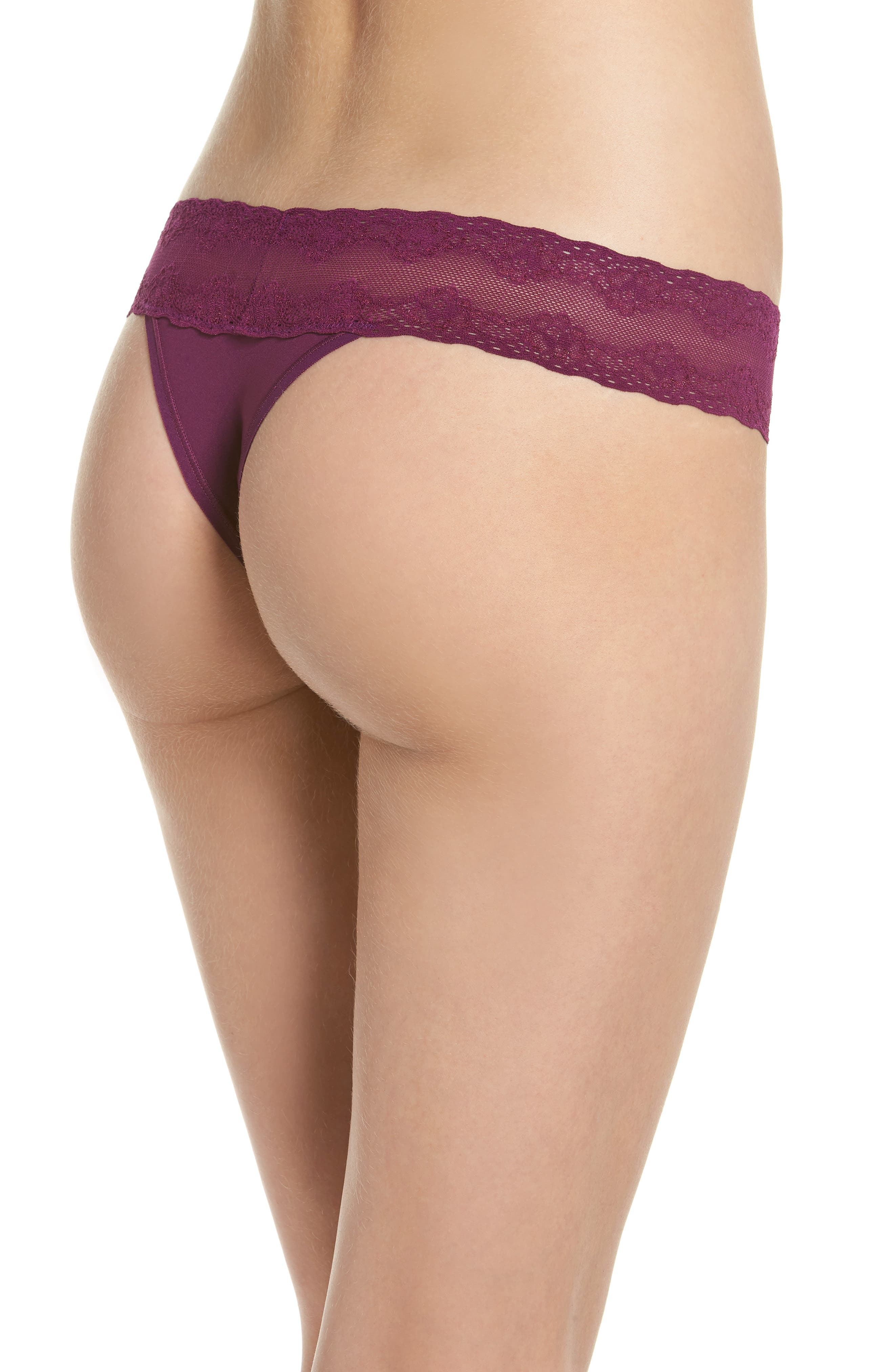 Bliss Perfection Thong,                             Alternate thumbnail 121, color,