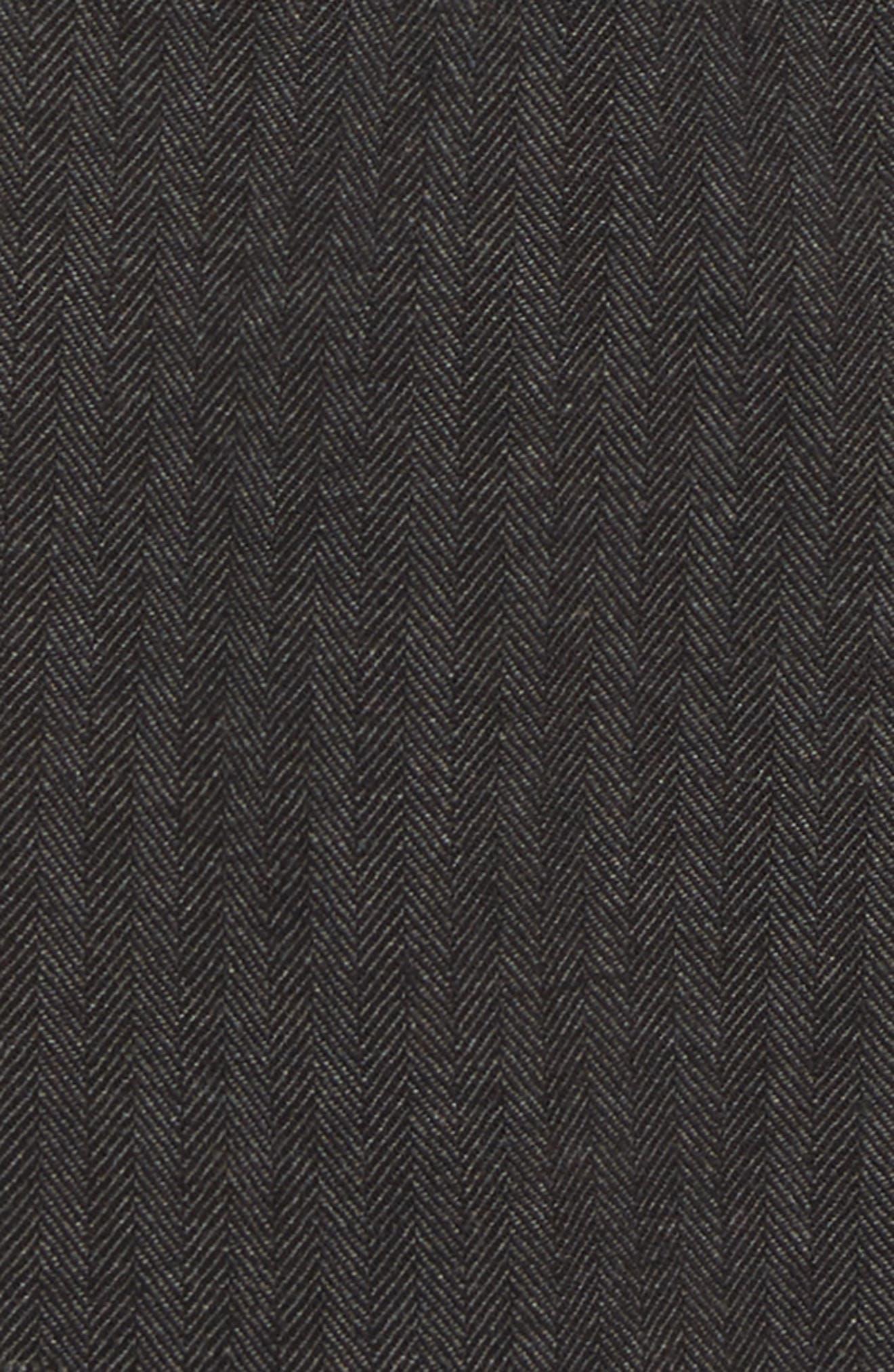 Smart Pull-On Pants,                             Alternate thumbnail 2, color,                             GRY GREY HERRINGBONE