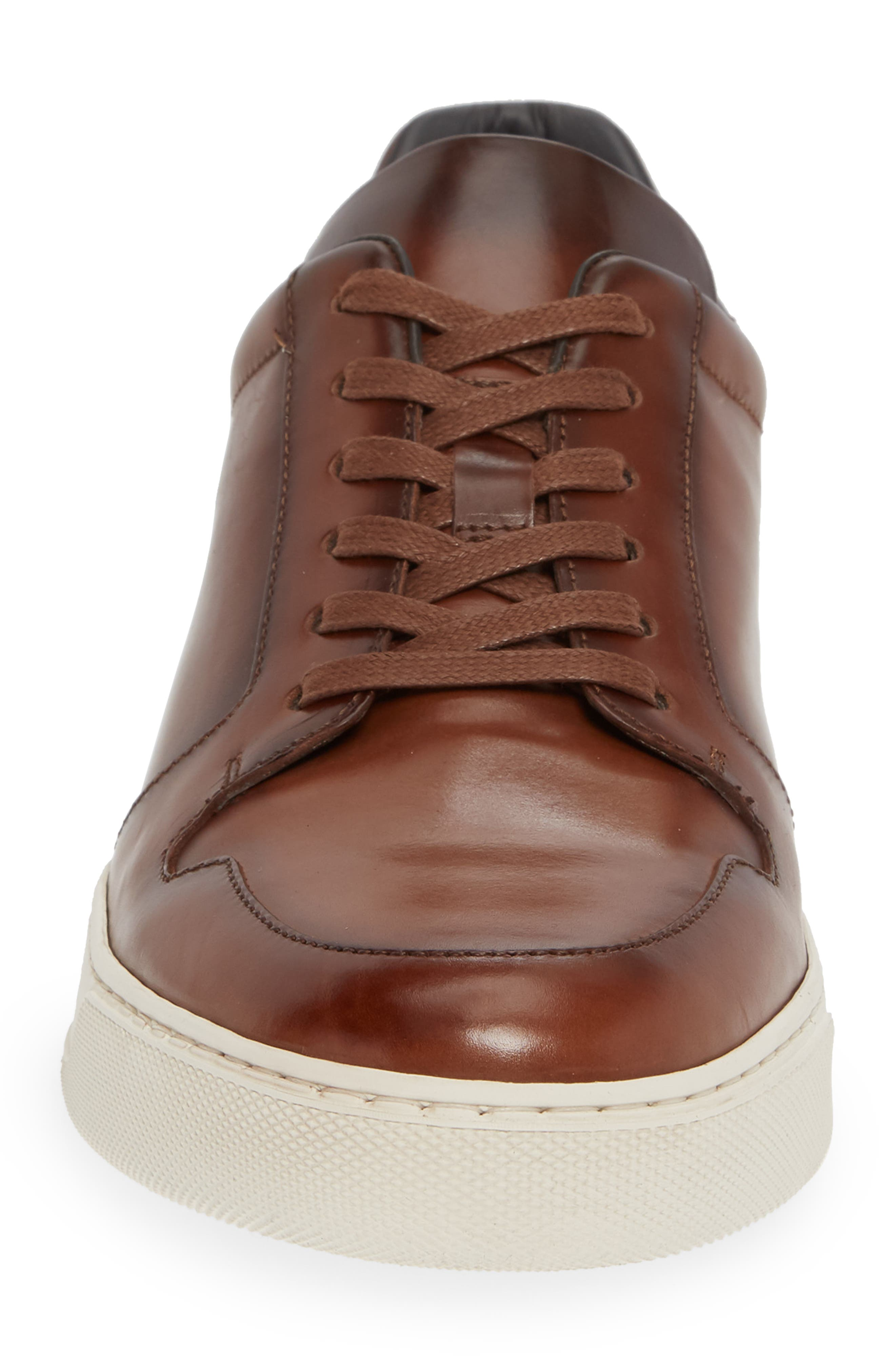 Munich Sneaker,                             Alternate thumbnail 4, color,                             MARRONE LEATHER