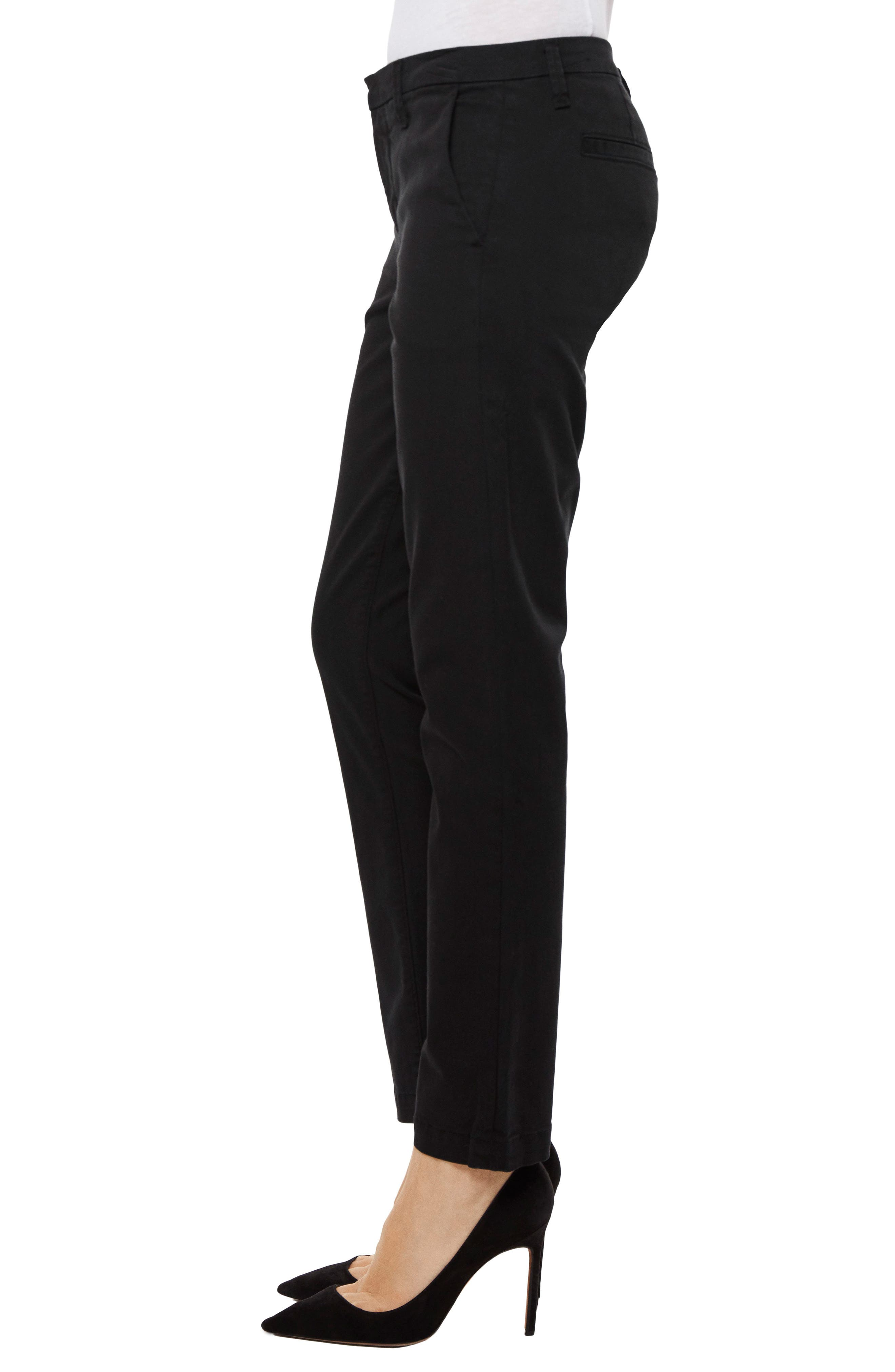 Clara Ankle Trousers,                             Alternate thumbnail 3, color,                             001