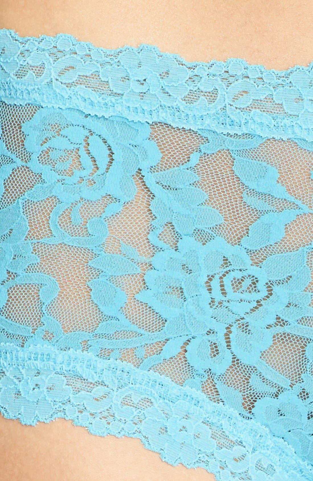 'Signature Lace' Boyshorts,                             Alternate thumbnail 199, color,