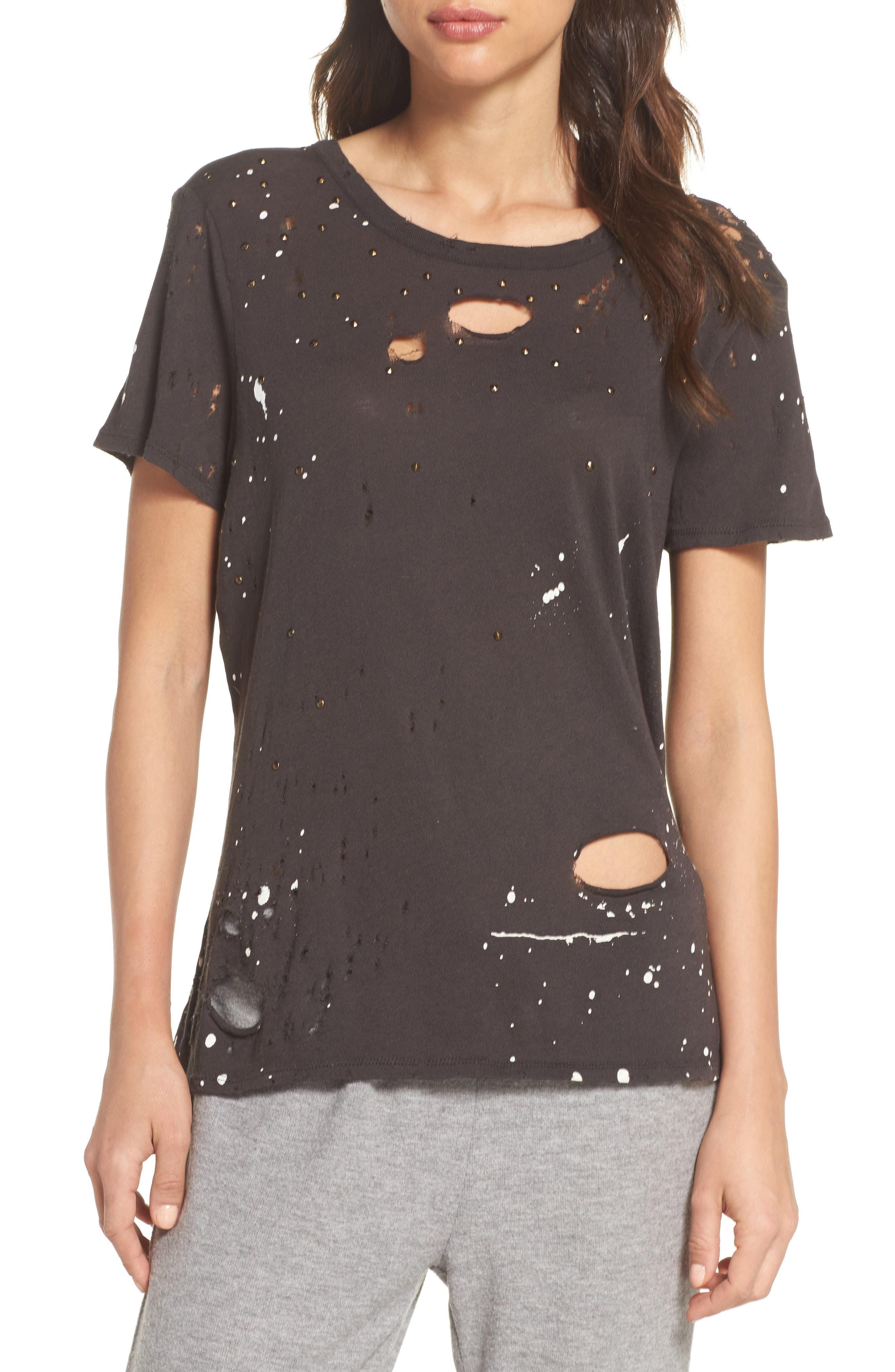 Distressed Tee,                             Main thumbnail 1, color,                             003