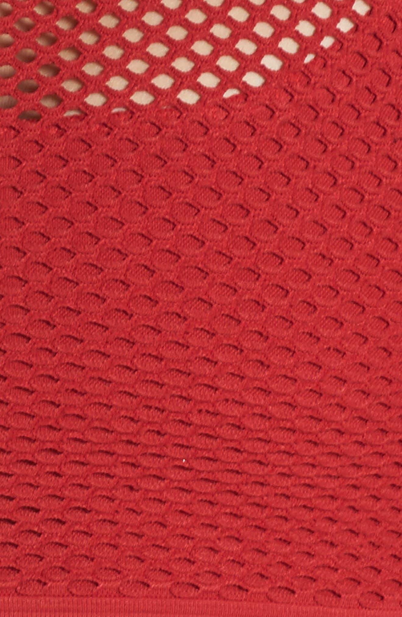Seamless Layer Sports Bra,                             Alternate thumbnail 7, color,                             600
