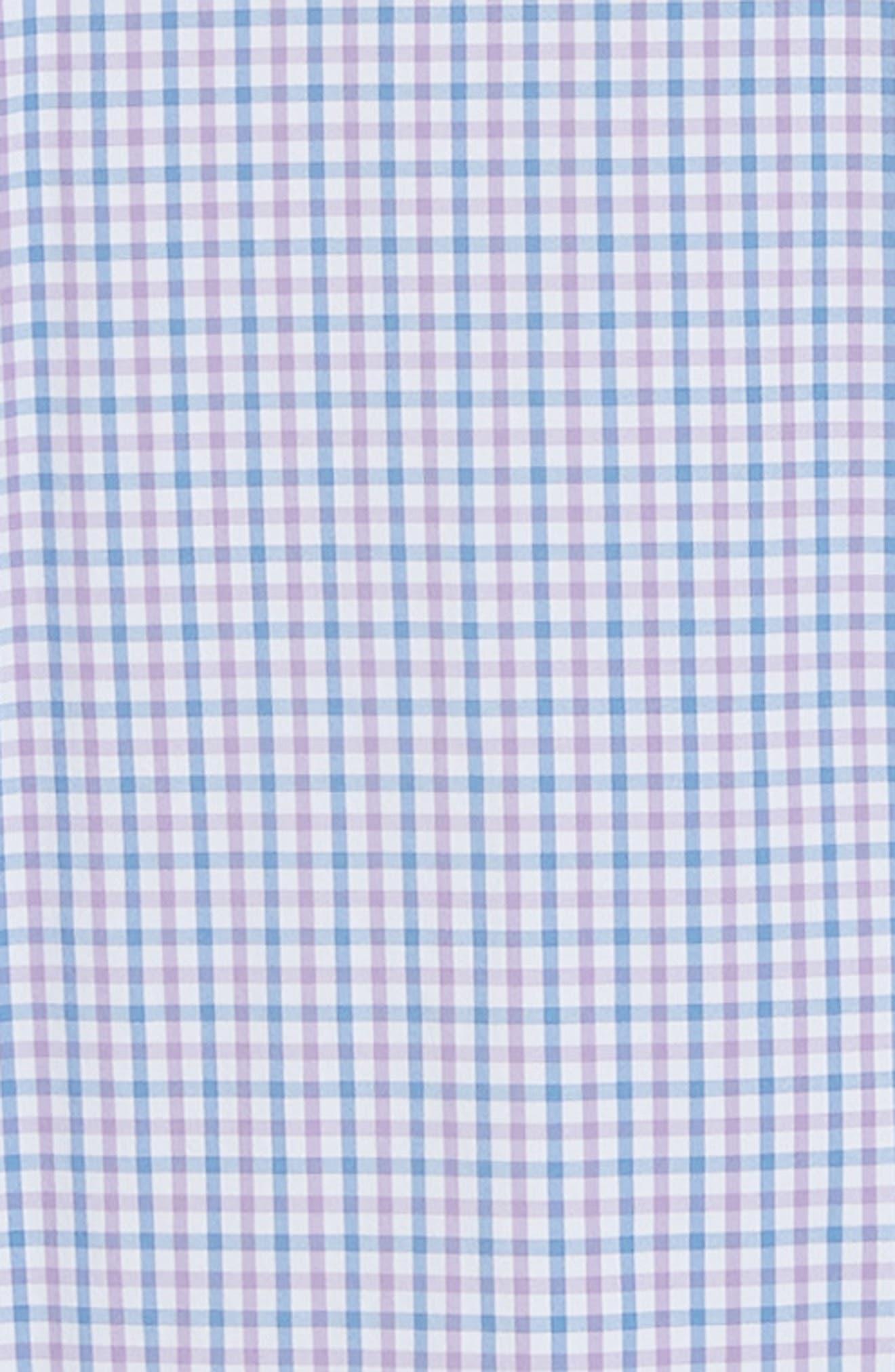 Natural Touch Regular Fit Performance Sport Shirt,                             Alternate thumbnail 6, color,                             VESSEL/ BRITISH GREY