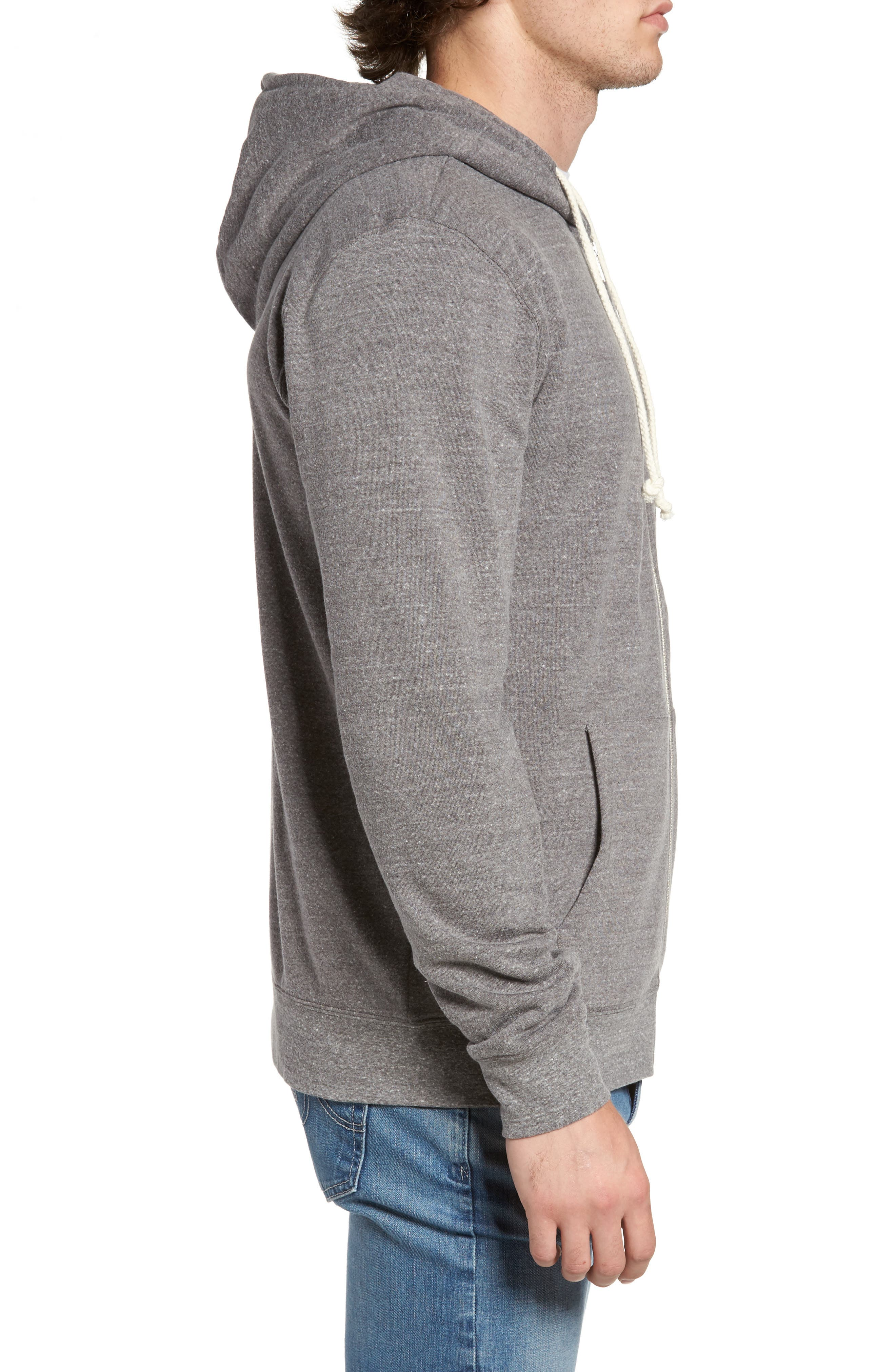 Threads for Thought Trim Fit Heathered Hoodie,                             Alternate thumbnail 50, color,
