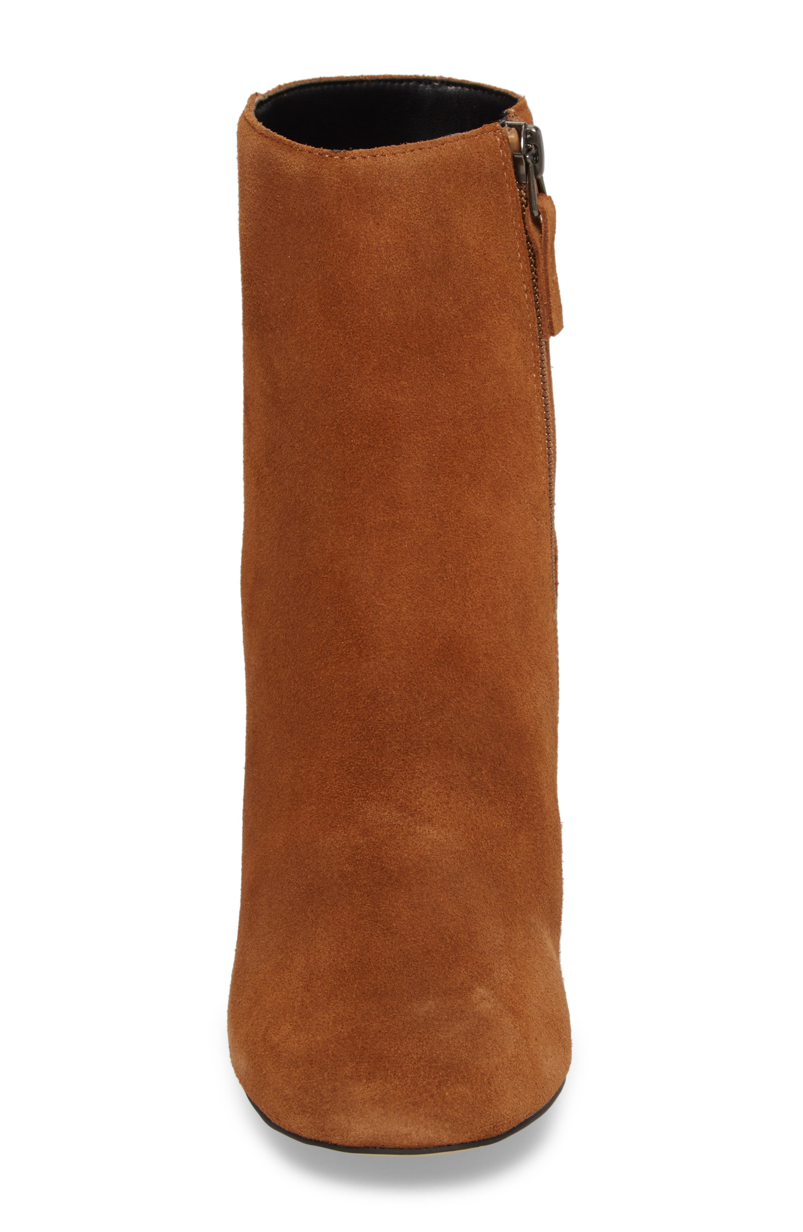Column Heel Bootie,                             Alternate thumbnail 8, color,