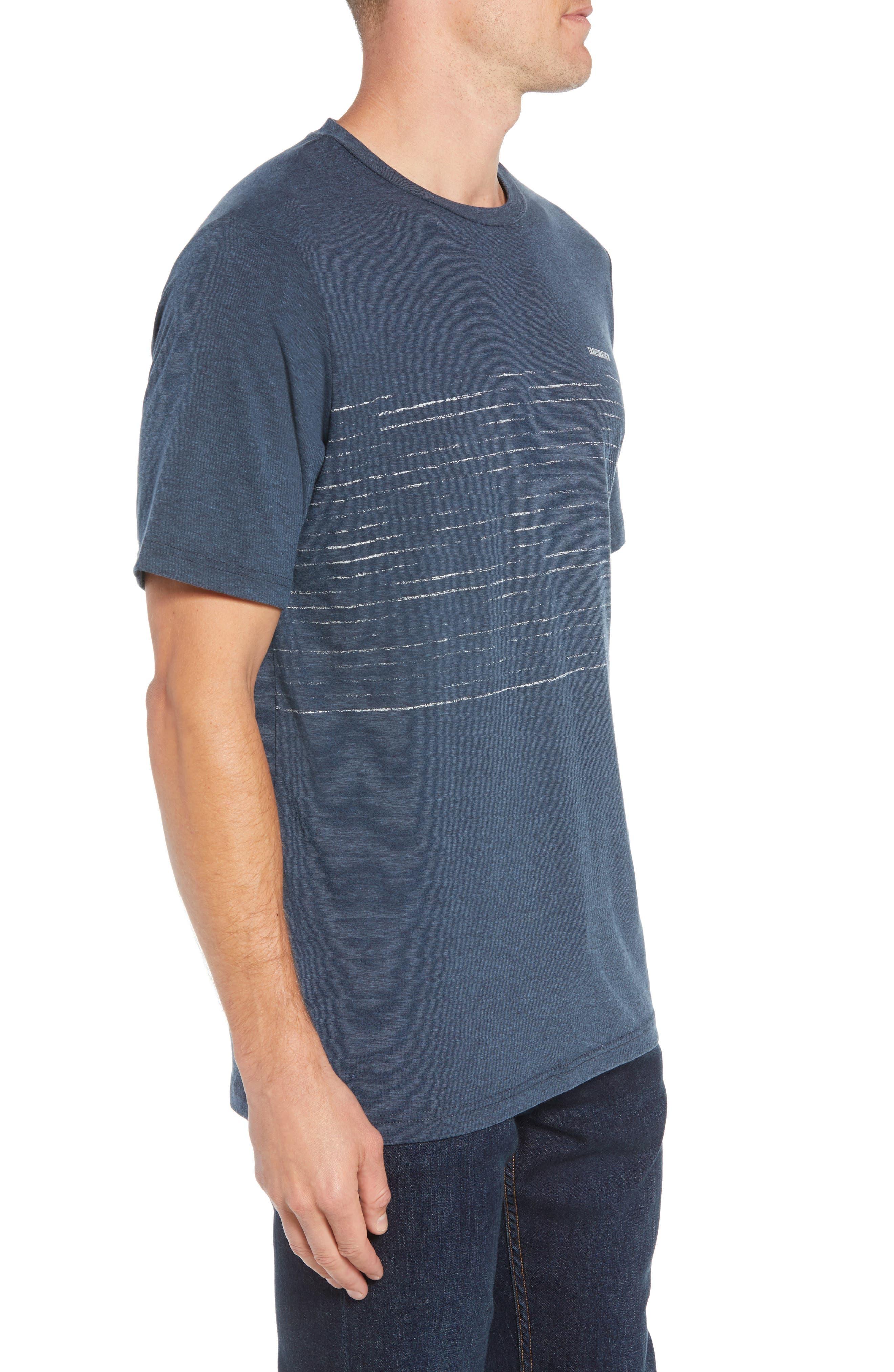 Laze T-Shirt,                             Alternate thumbnail 3, color,                             TRUE NAVY/ BLACK