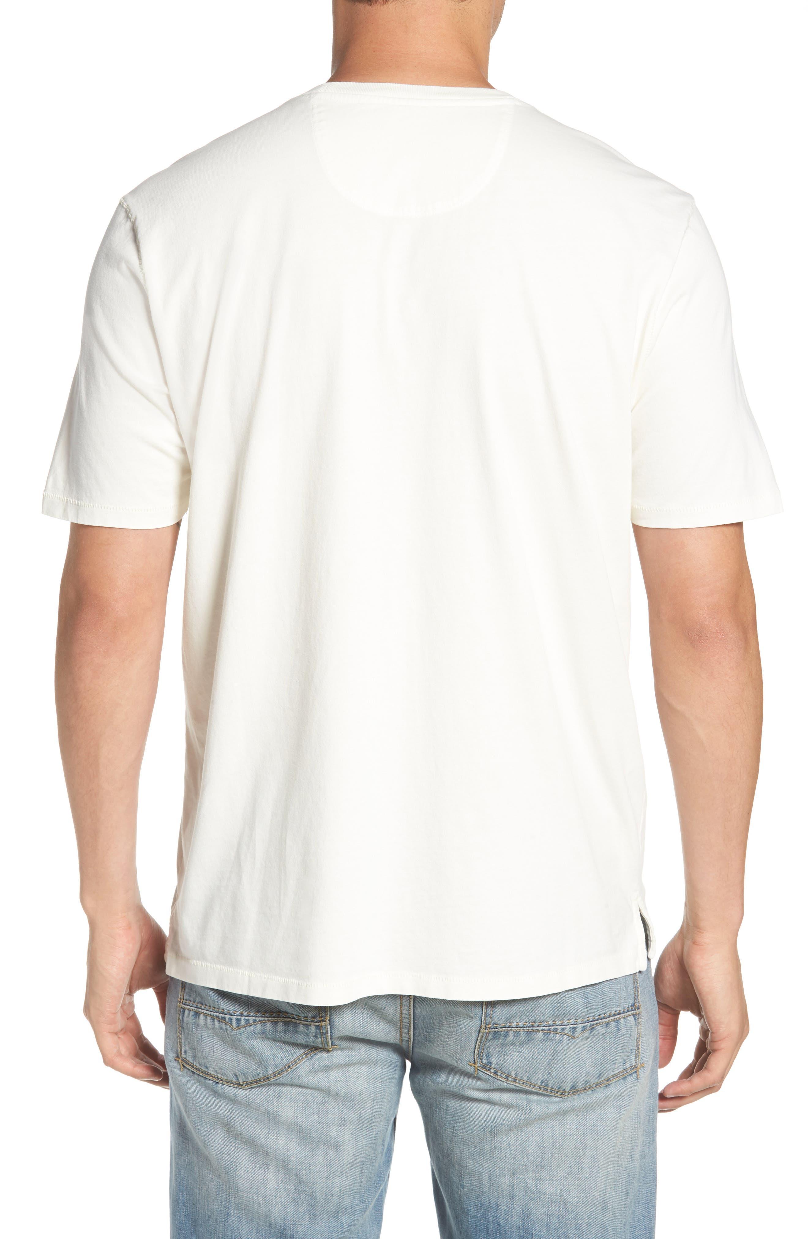 Beach Crewneck T-Shirt,                             Alternate thumbnail 2, color,                             100