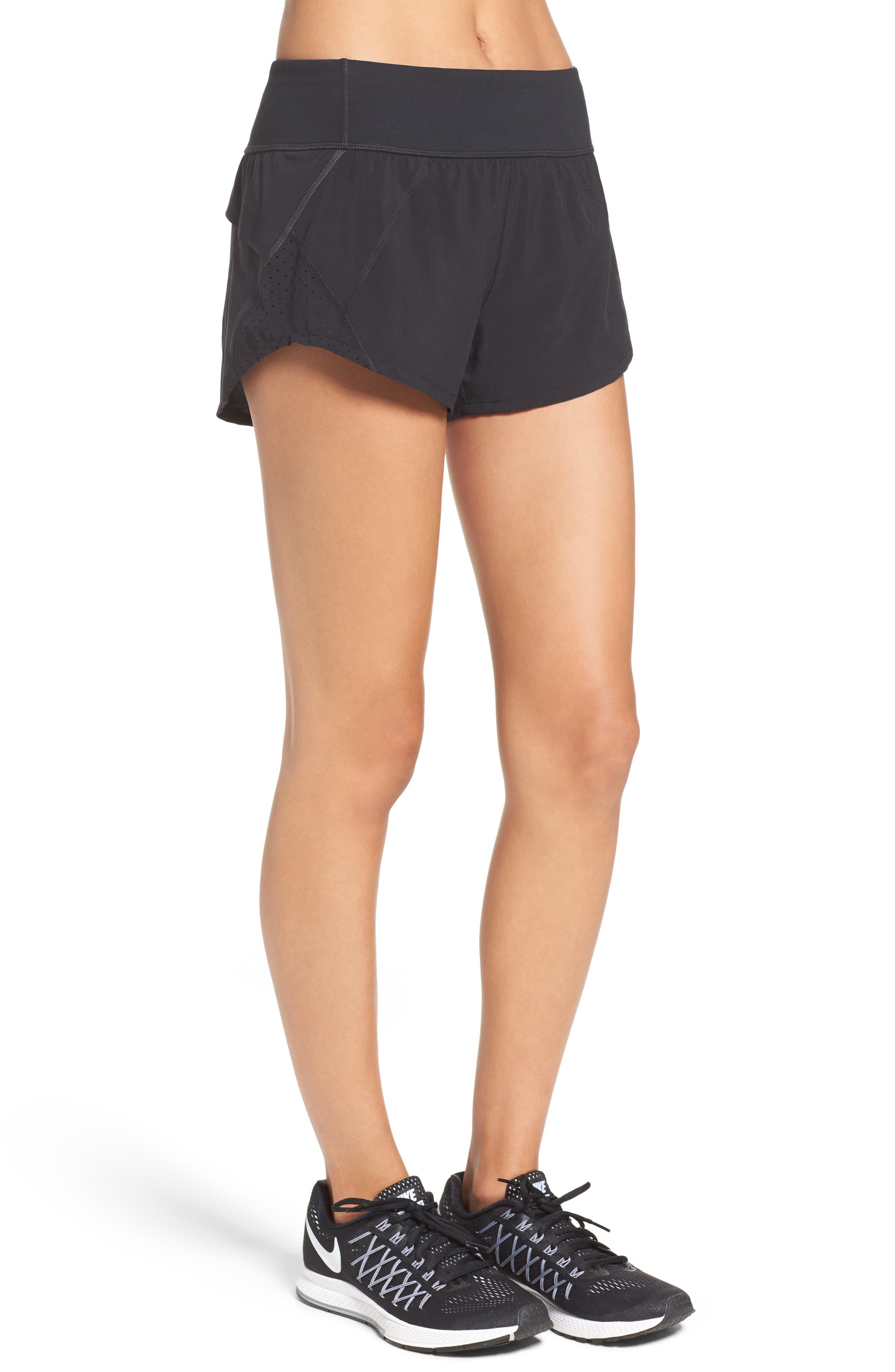 Runaround Compact Shorts,                             Alternate thumbnail 3, color,                             001