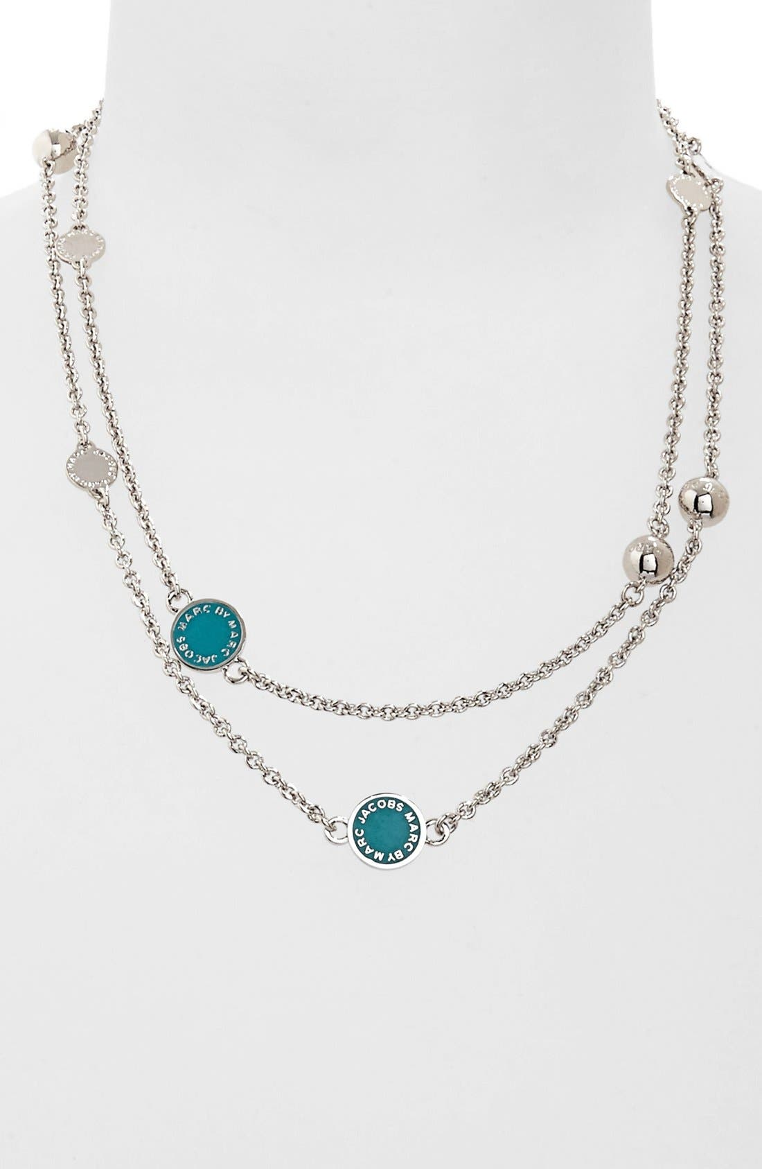 'Classic Marc' Long Necklace,                             Main thumbnail 6, color,