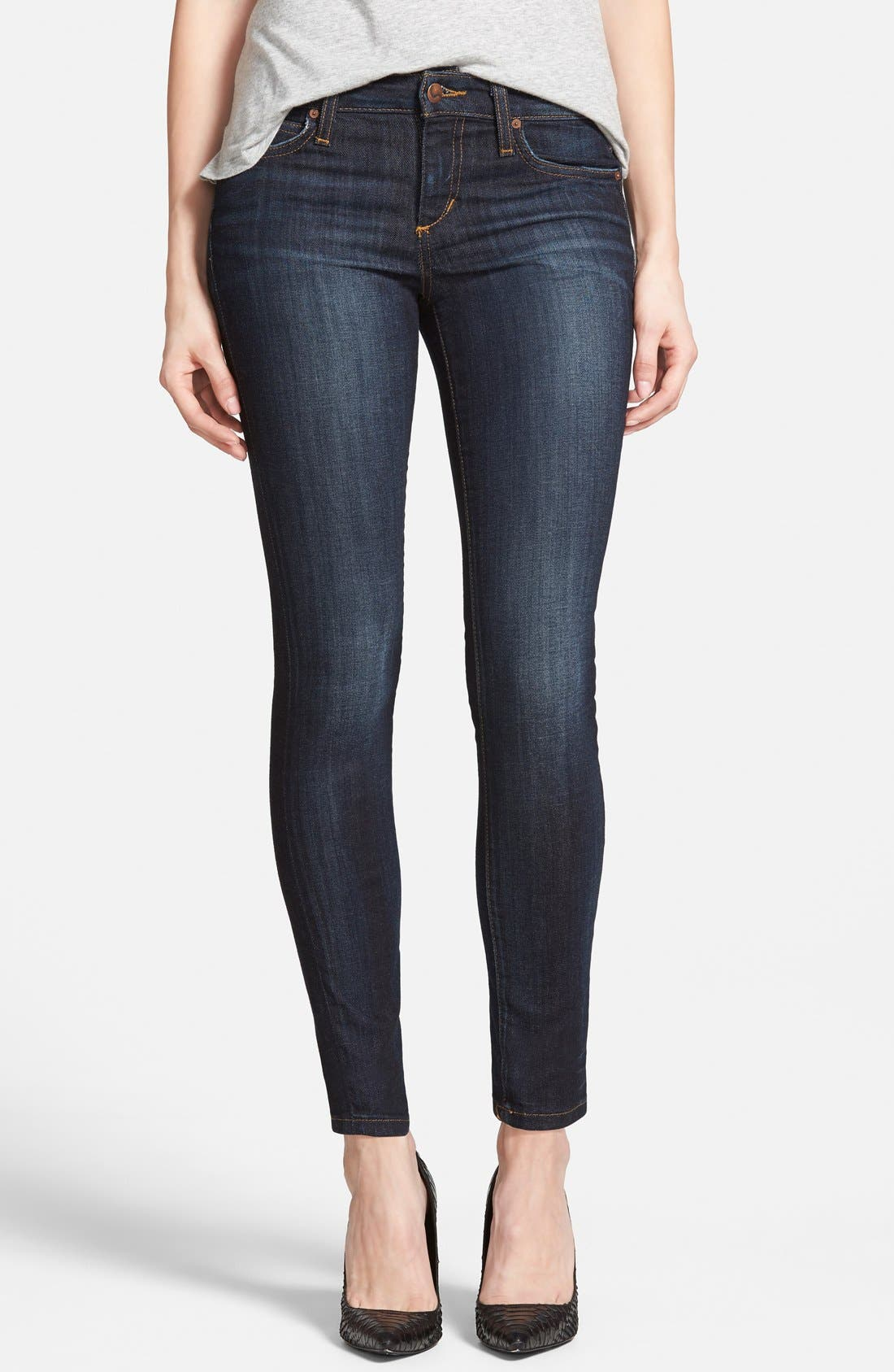 Skinny Ankle Jeans,                         Main,                         color, 410