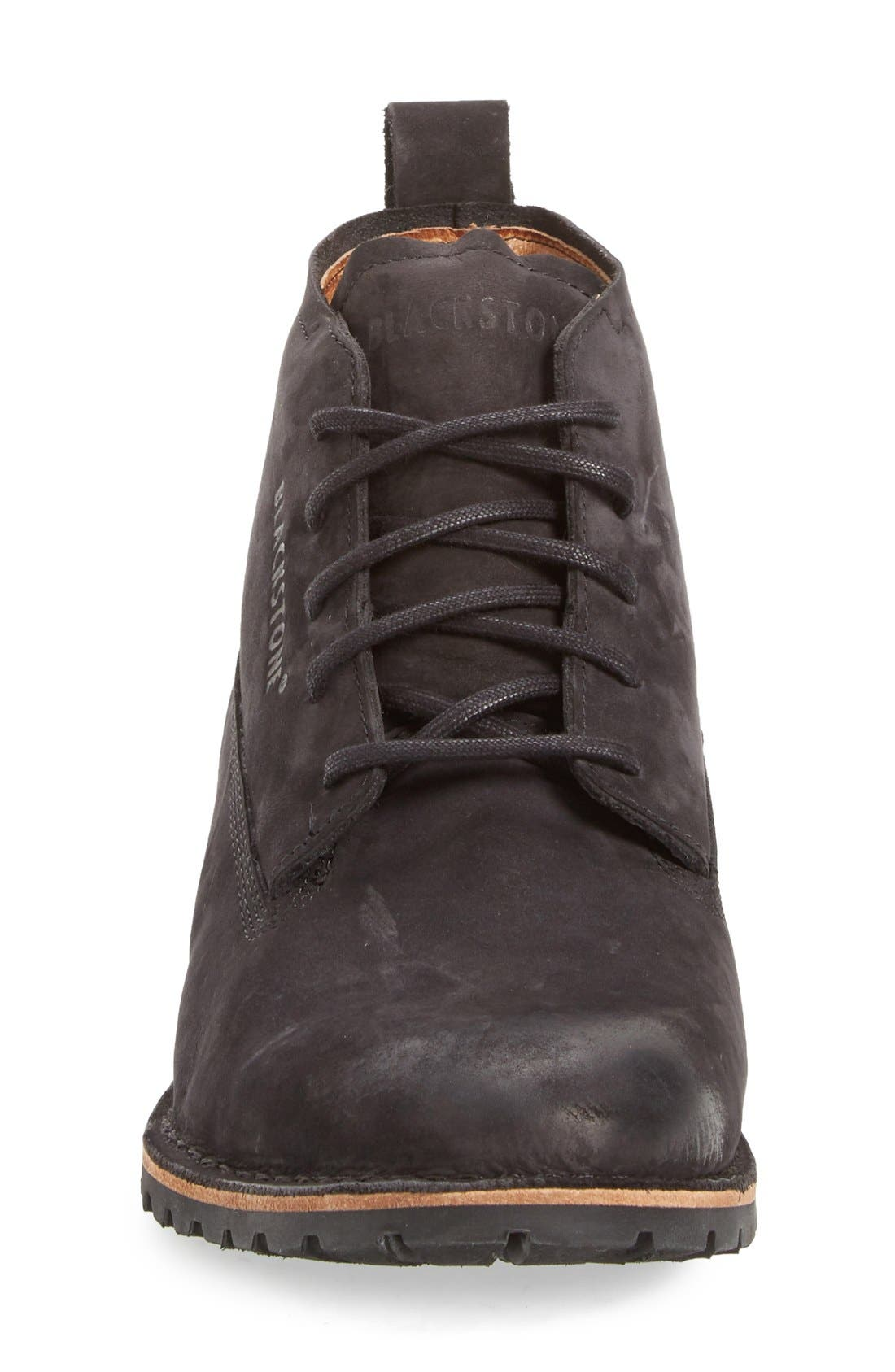 'KM07' Plain Toe Boot,                             Alternate thumbnail 3, color,                             001