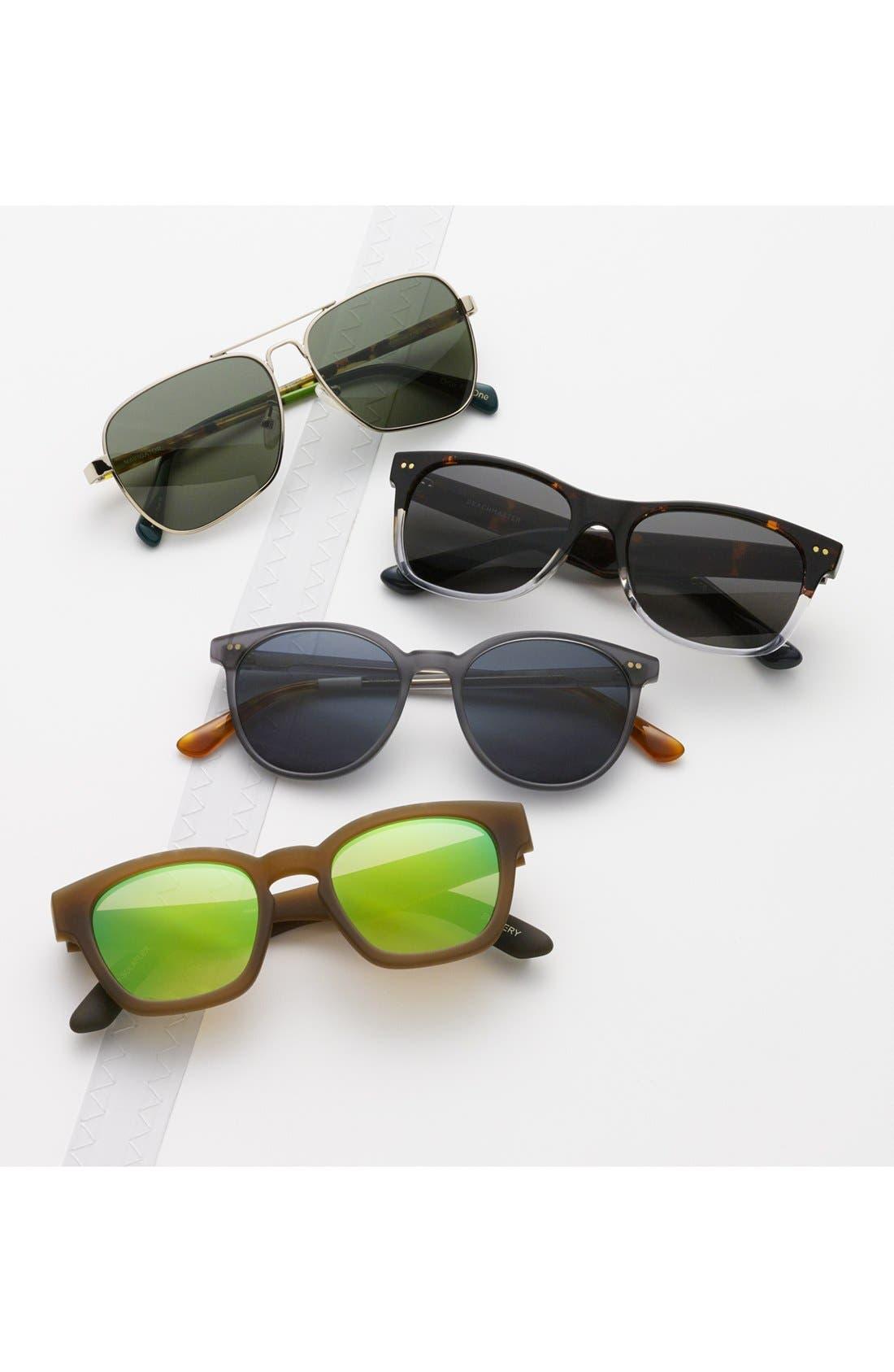 Bowery 51mm Sunglasses,                         Main,                         color, 100