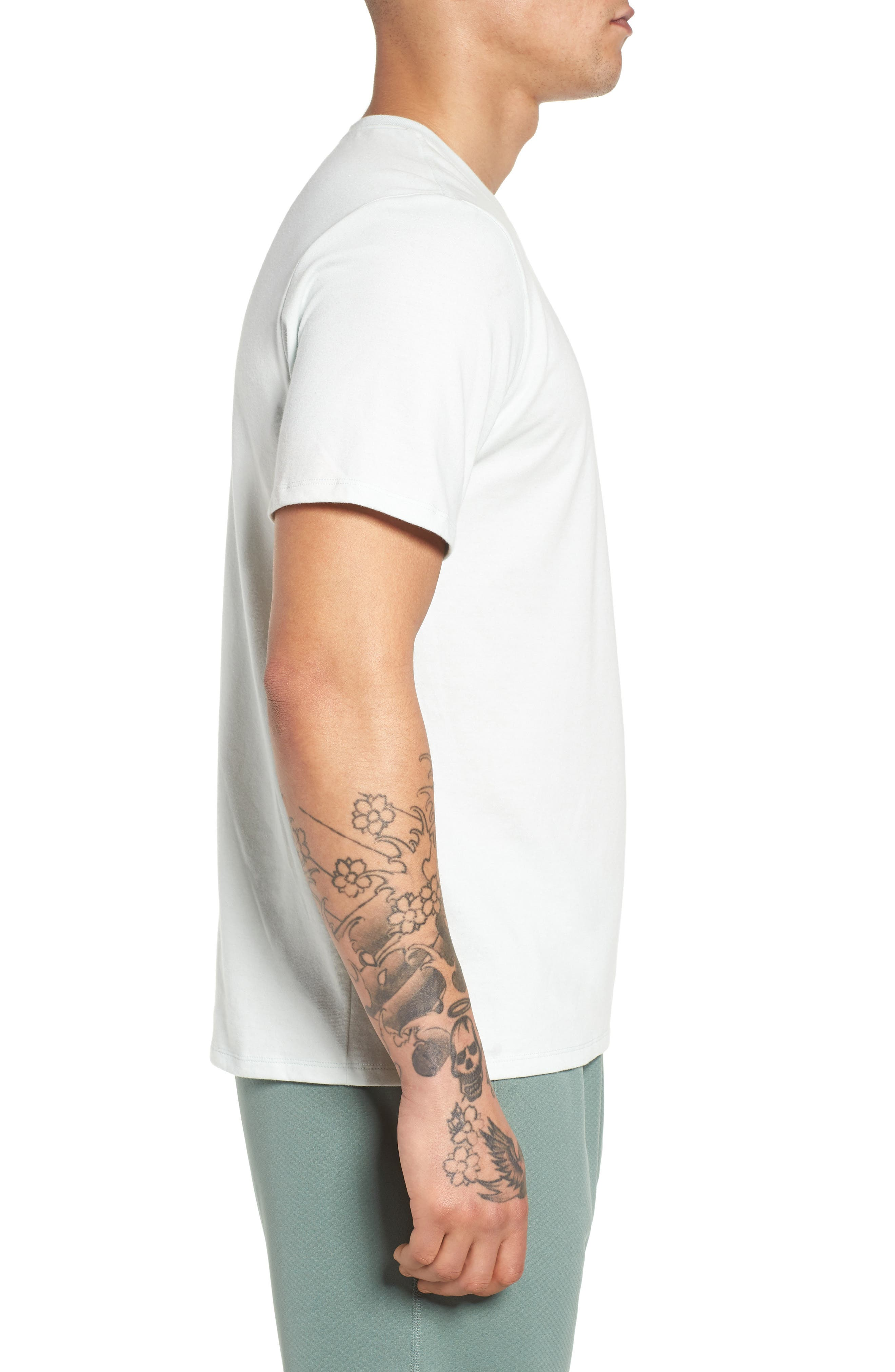 SB Dry BBQ Fish Crewneck T-Shirt,                             Alternate thumbnail 3, color,