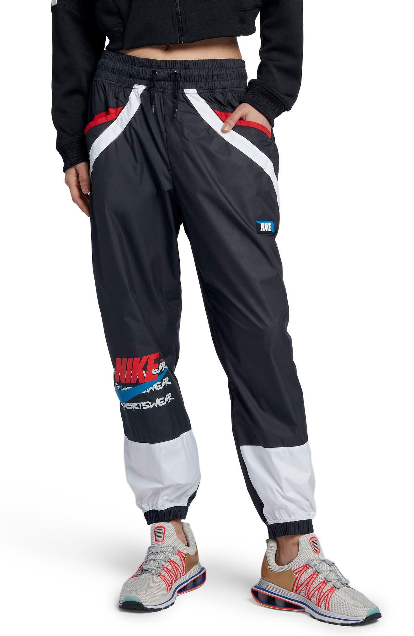 Sportswear Women's Woven Moto Pants,                         Main,                         color,