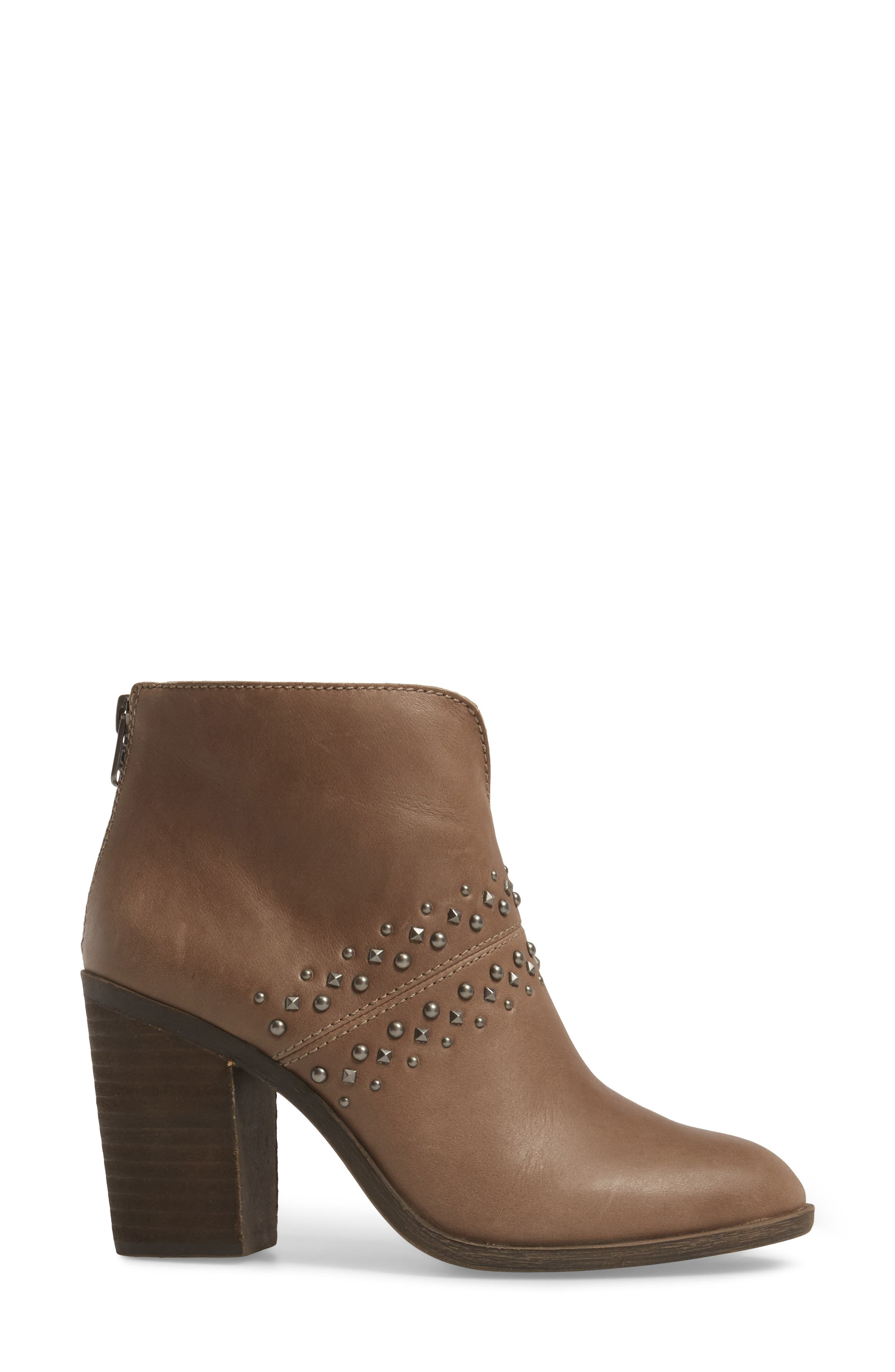 Sancha Studded Bootie,                             Alternate thumbnail 8, color,