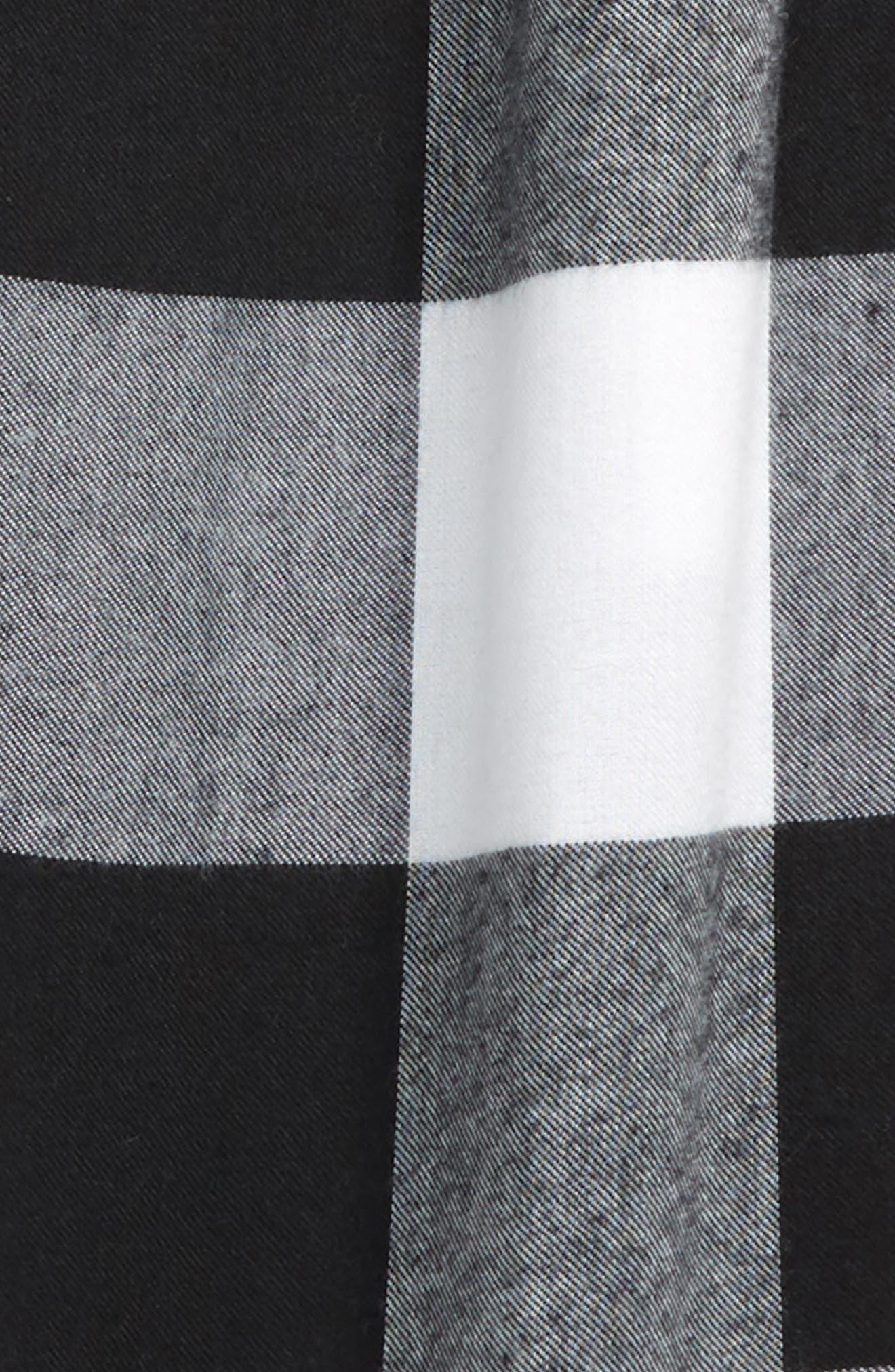 Flannel Jogger Pants,                             Alternate thumbnail 2, color,                             003
