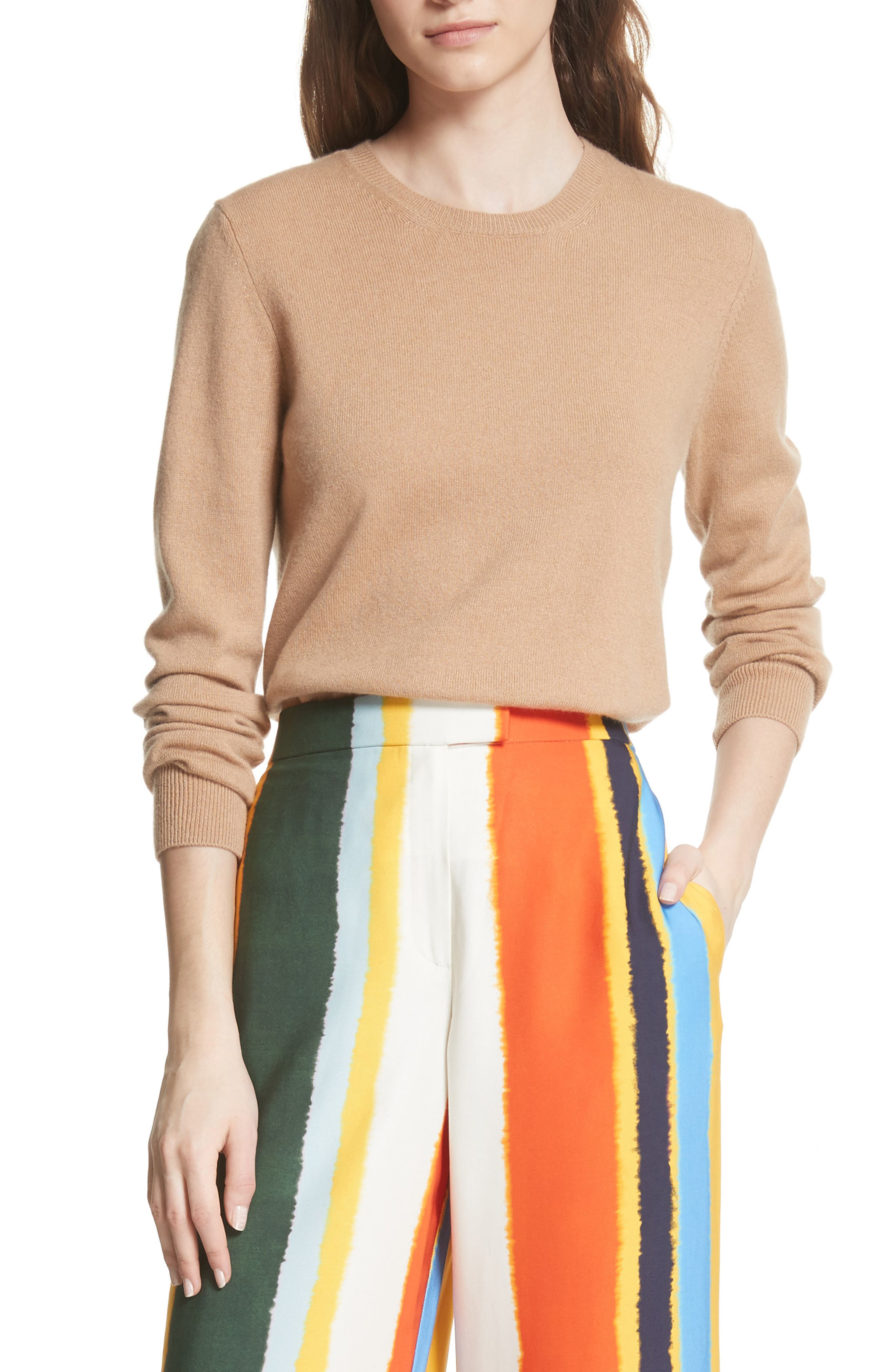 Bella Cashmere Sweater,                         Main,                         color, 235
