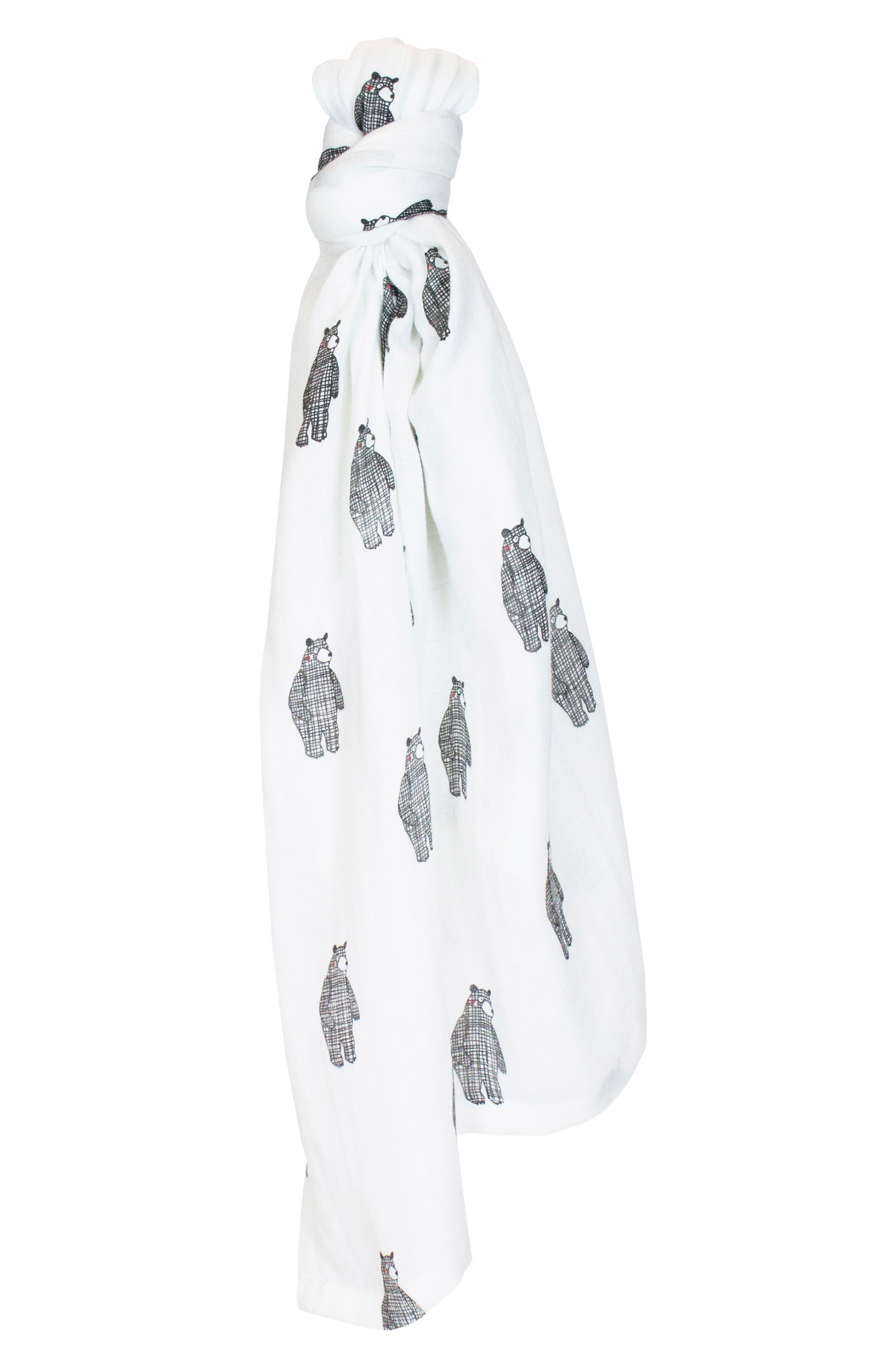 2-Pack Cuddle Blankets,                             Alternate thumbnail 5, color,                             BIG BEAR/ MONO BIRDS