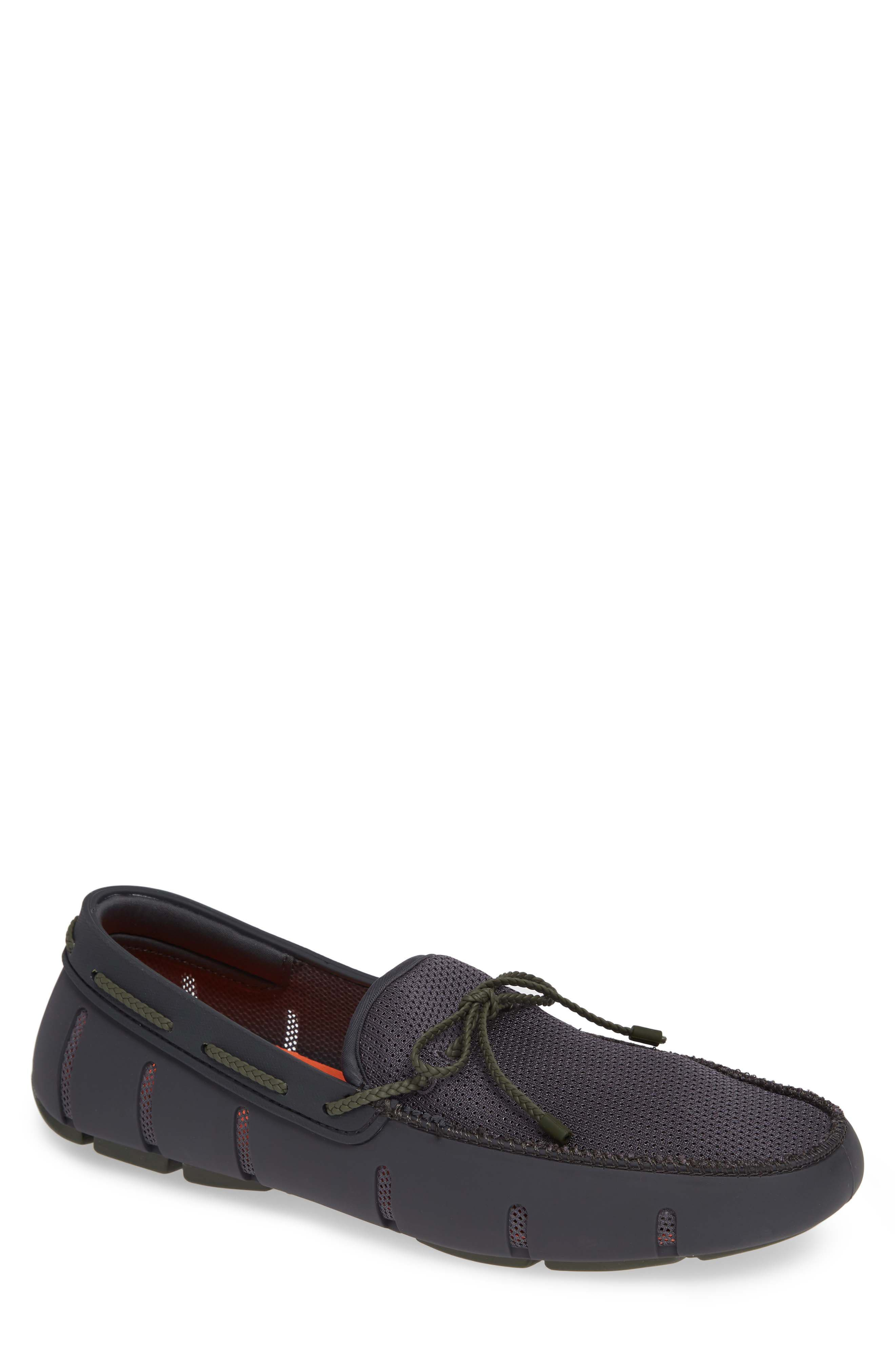 Lace Loafer,                         Main,                         color, DARK GRAY/ OLIVE