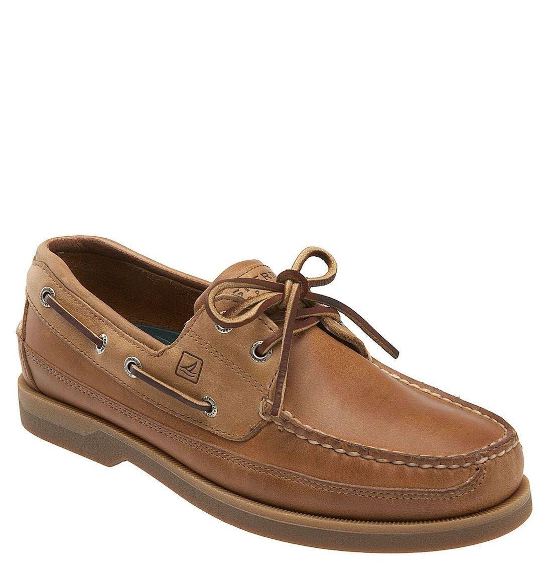 Top-Sider<sup>®</sup> 'Mako Two-Eye Canoe Moc' Boat Shoe,                             Main thumbnail 4, color,