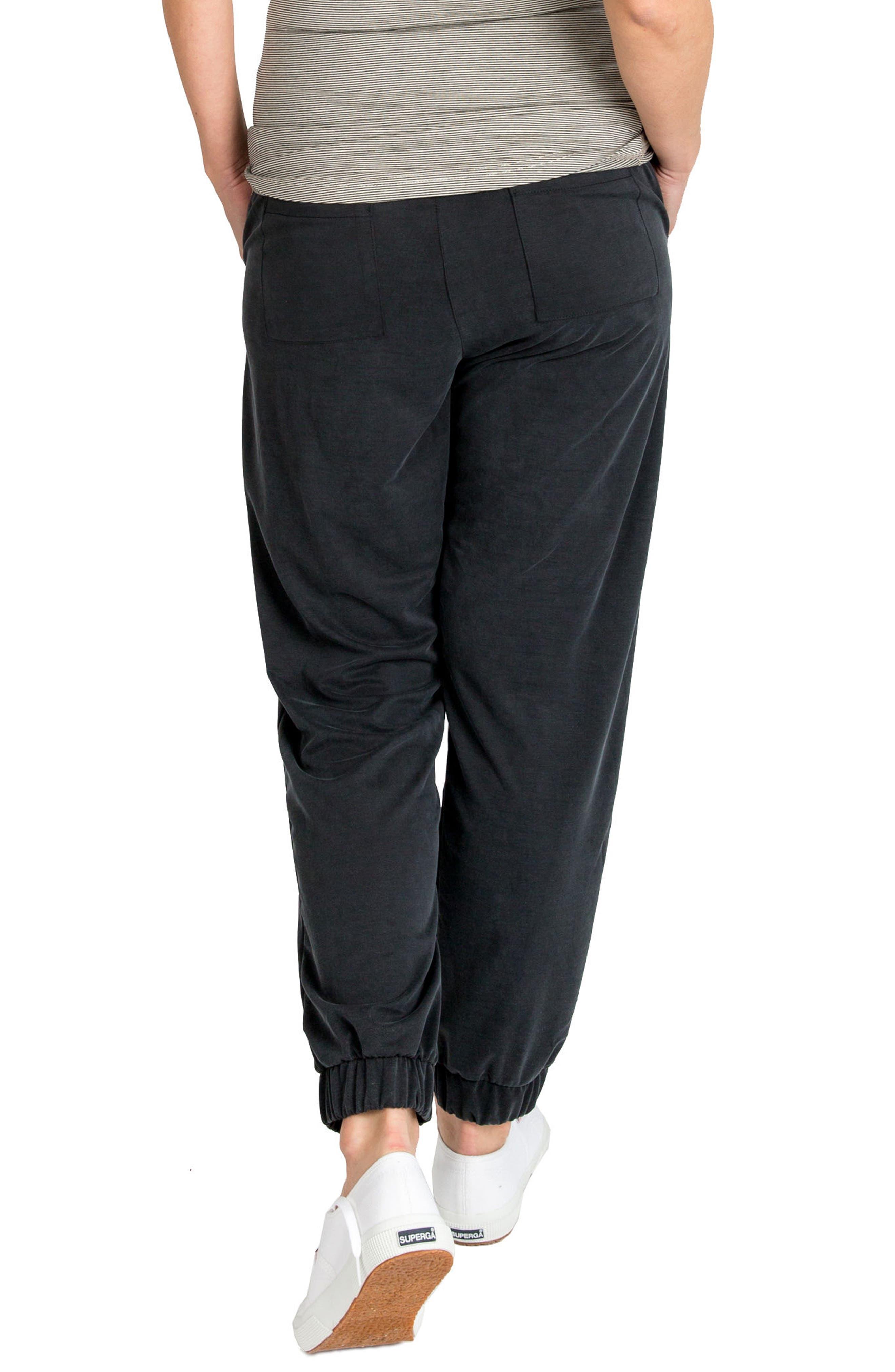 'Jenna' Maternity Pants,                             Alternate thumbnail 4, color,