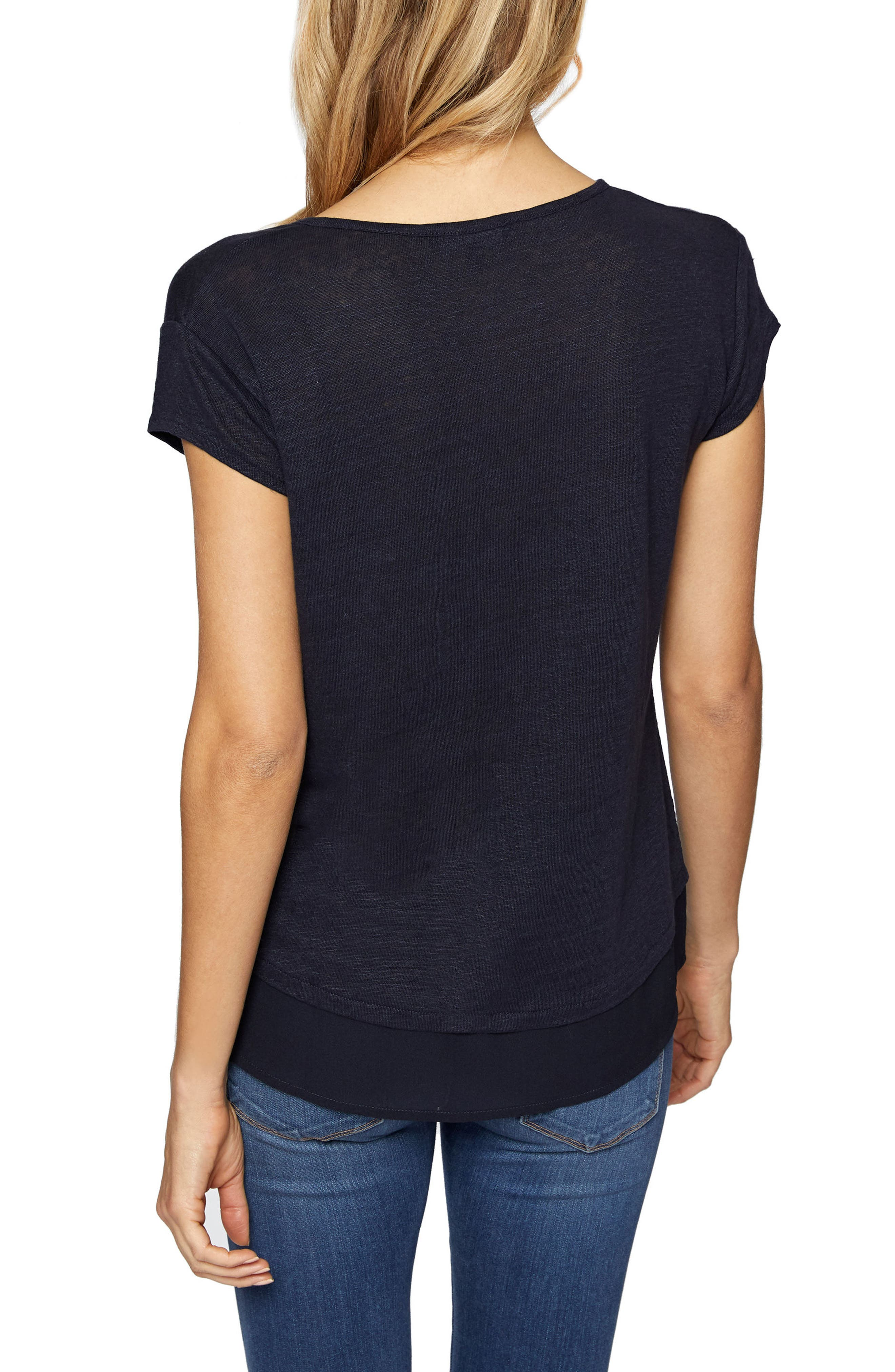 City Mix Layered Look Tee,                             Alternate thumbnail 29, color,