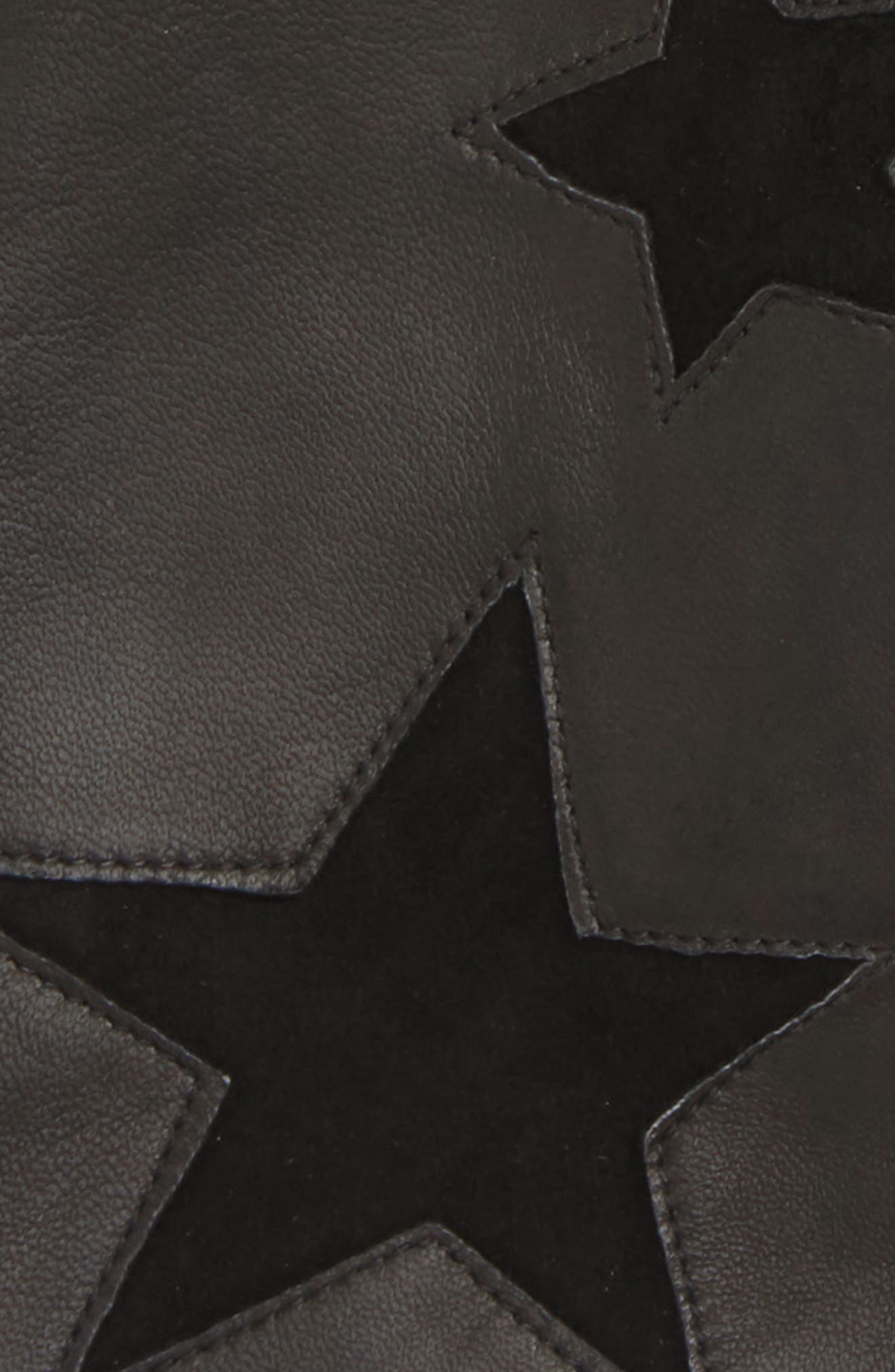 NORDSTROM,                             Star Lambskin Leather Gloves,                             Alternate thumbnail 2, color,                             001