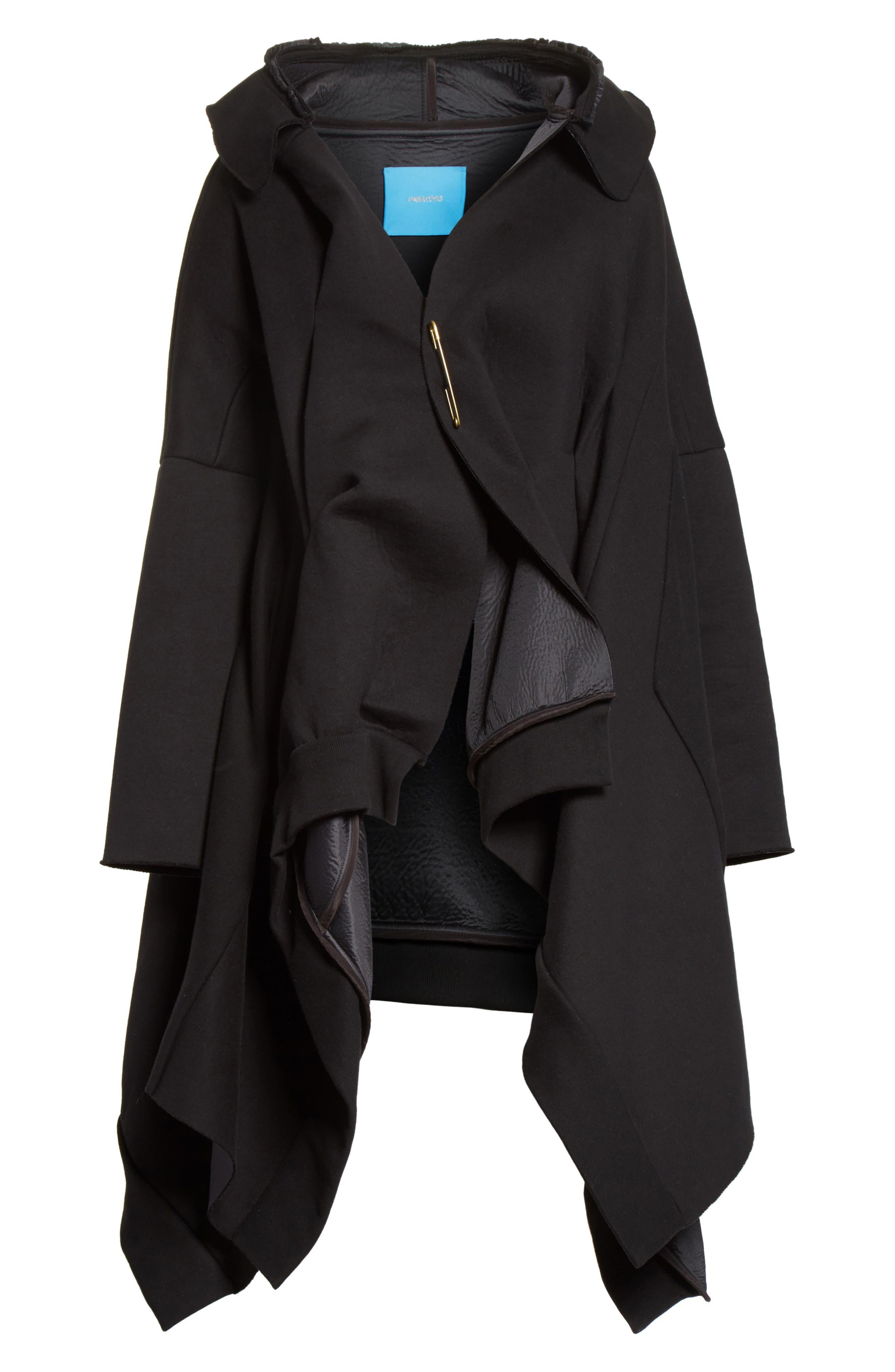 Hooded Coat,                             Alternate thumbnail 5, color,                             001