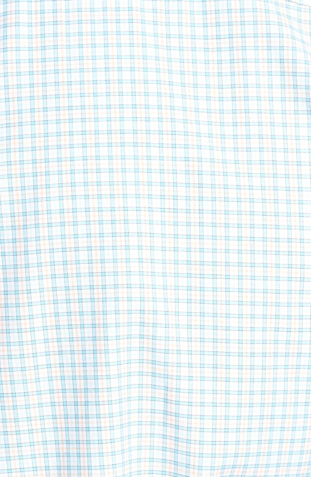 Crown Finish Regular Fit Check Sport Shirt,                             Alternate thumbnail 9, color,