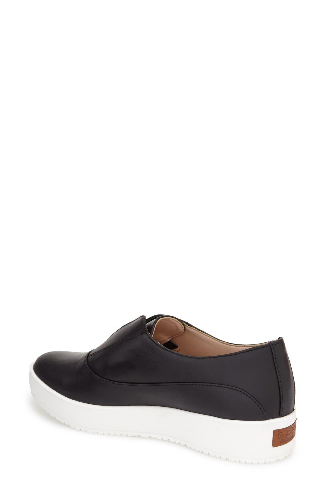 'Original Collection - Blakely' Laceless Platform Sneaker,                             Alternate thumbnail 2, color,                             001