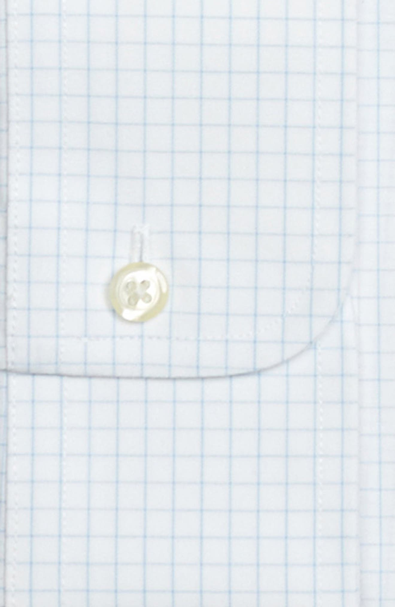 Regular Fit Check Dress Shirt,                             Alternate thumbnail 2, color,                             LIGHT/ PASTEL BLUE