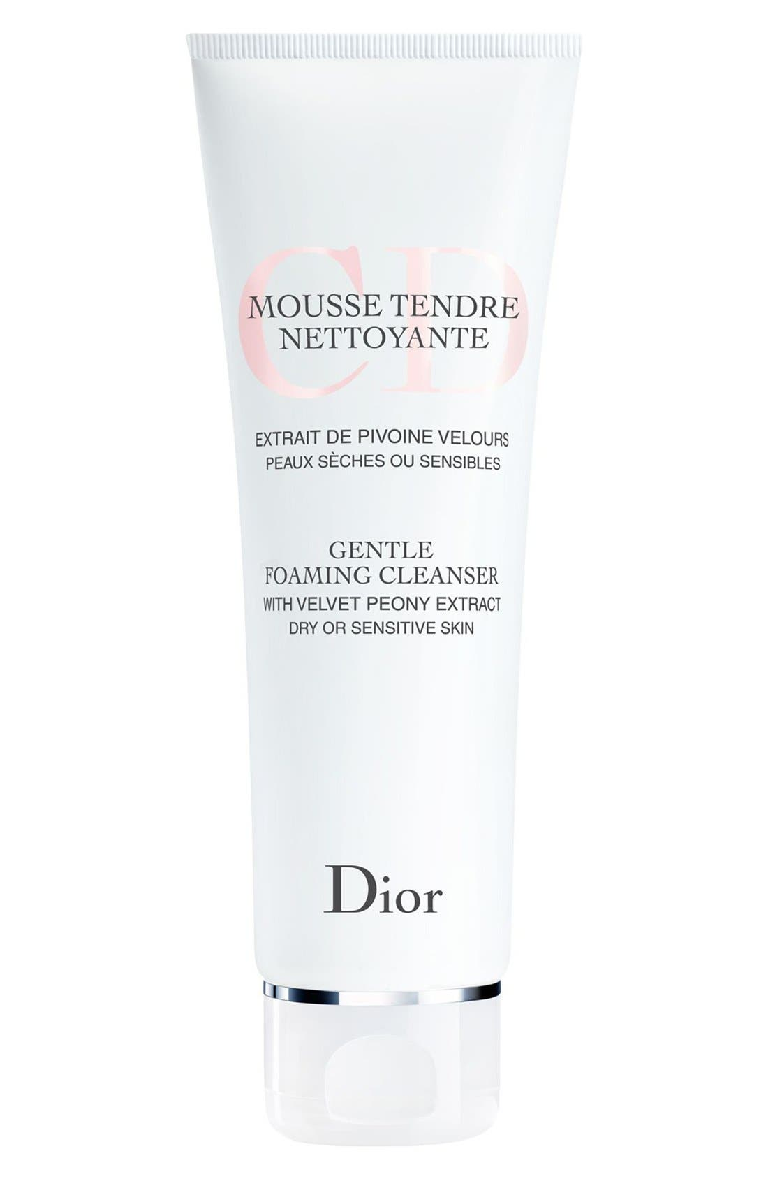 Gentle Foaming Cleanser for Dry or Sensitive Skin,                             Main thumbnail 1, color,                             000