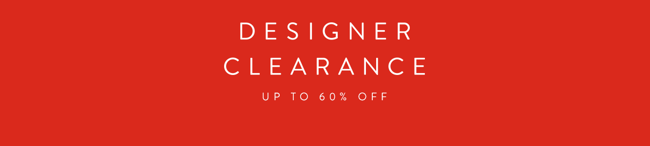 Designer Clearance Sale. Up to 60% off designer collections for women and men.