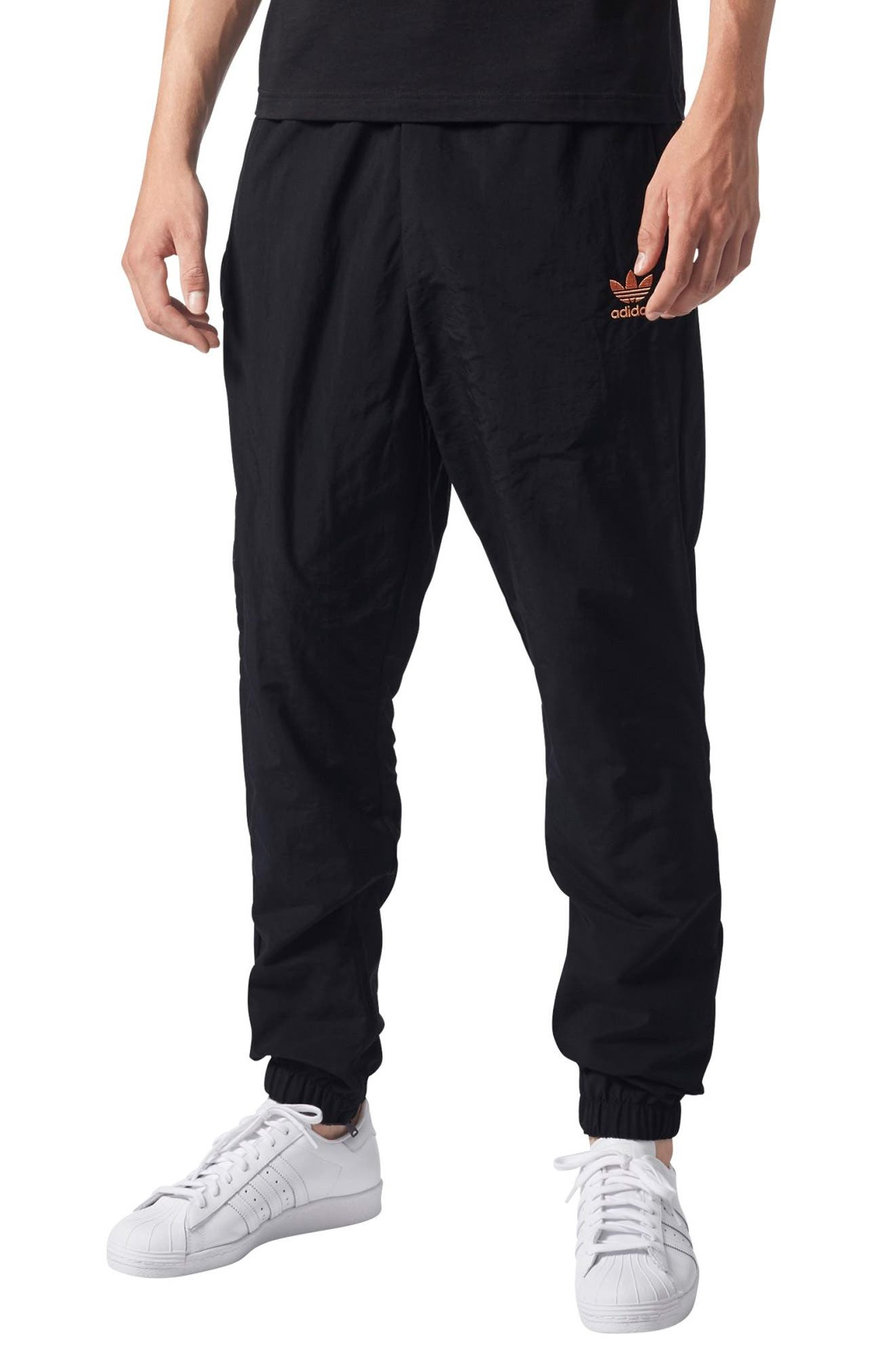 Pharrell Williams Hu Hiking Track Pants,                             Main thumbnail 1, color,                             001