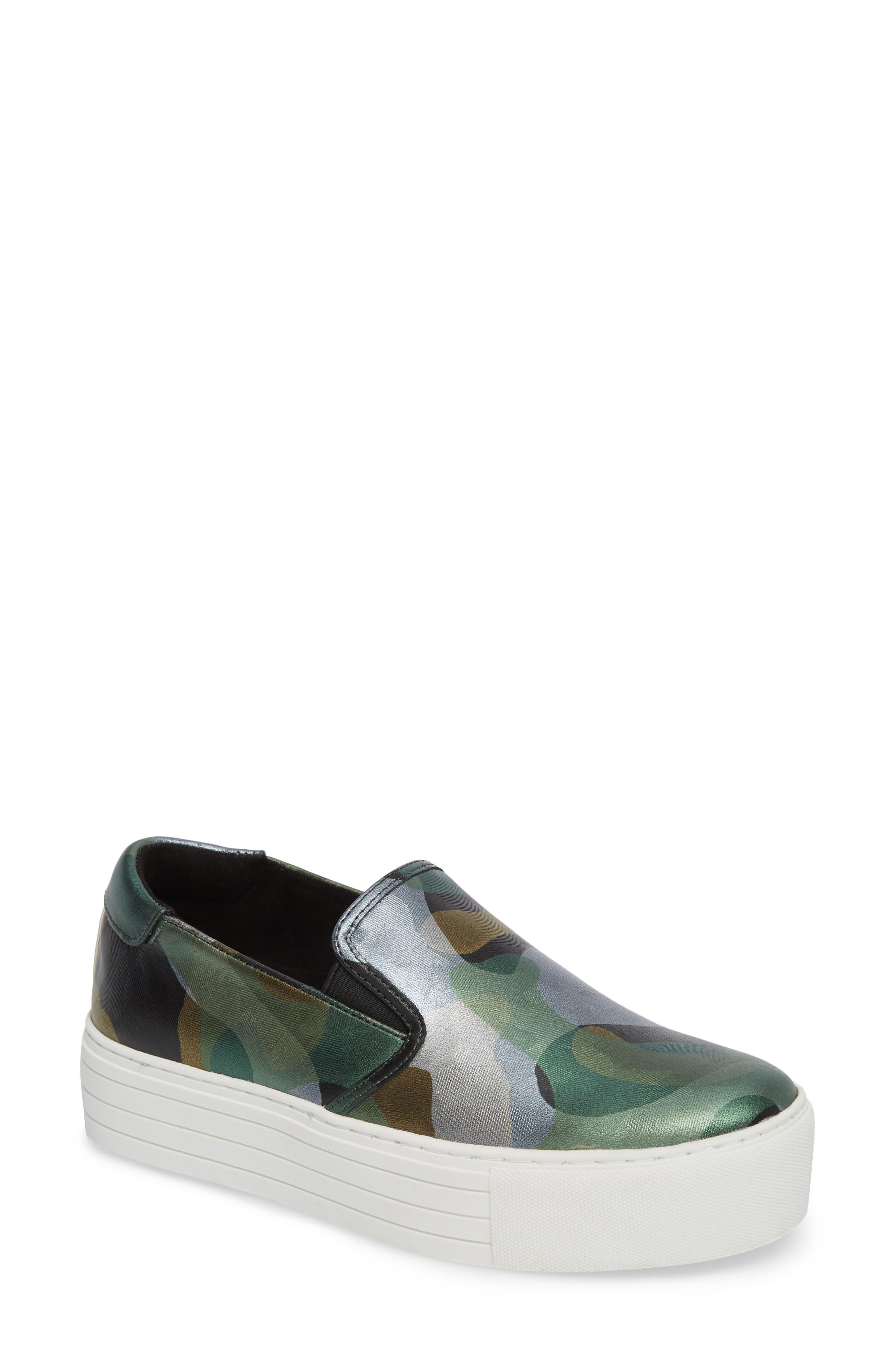 Joanie Slip-On Platform Sneaker,                             Main thumbnail 2, color,
