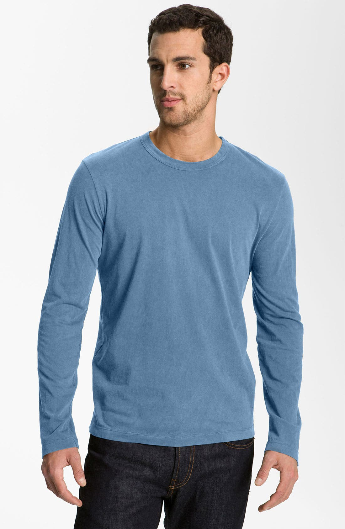 Long Sleeve Crewneck T-Shirt,                             Main thumbnail 27, color,