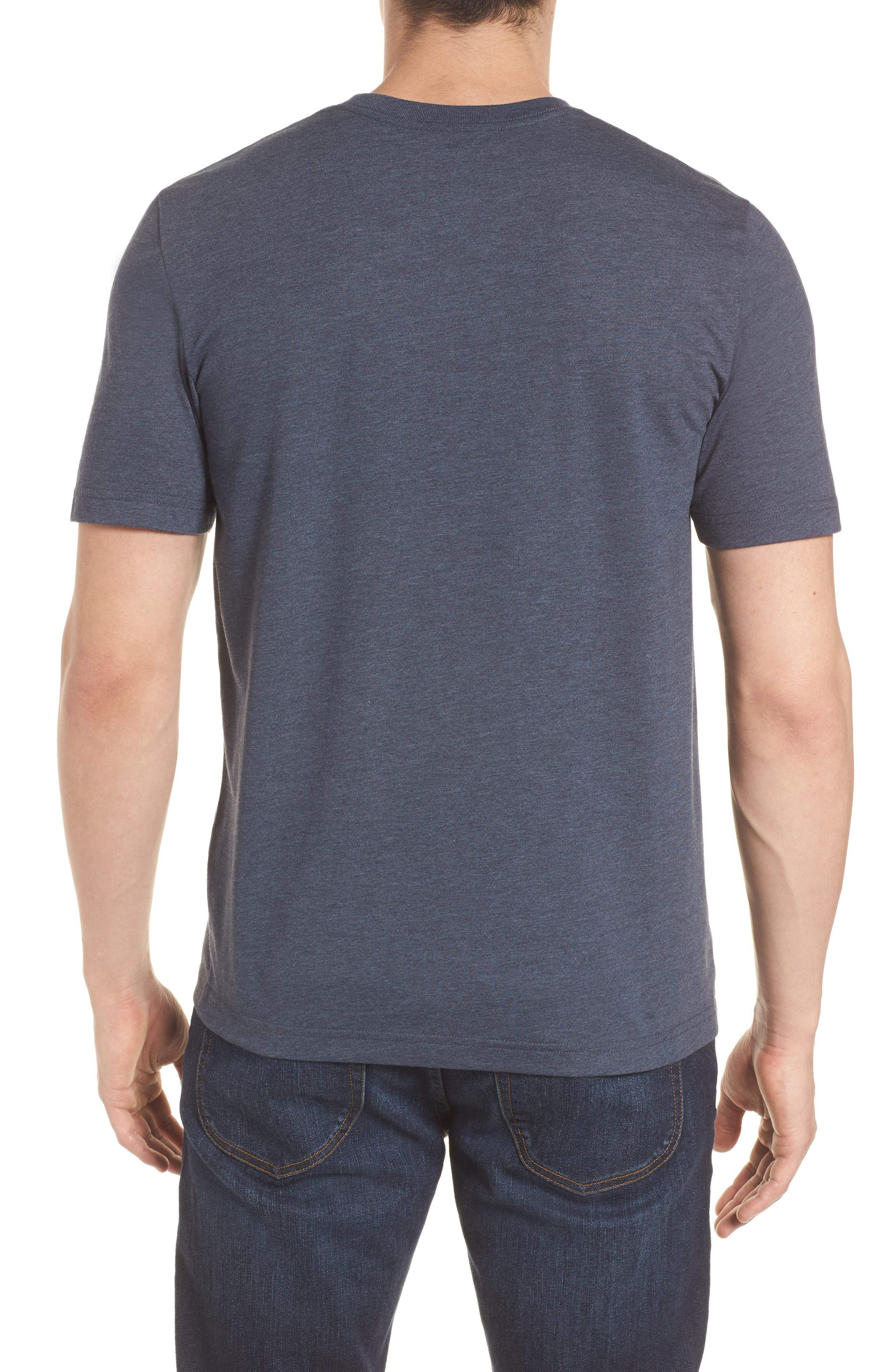 Gaviotas Crewneck T-Shirt,                             Alternate thumbnail 2, color,