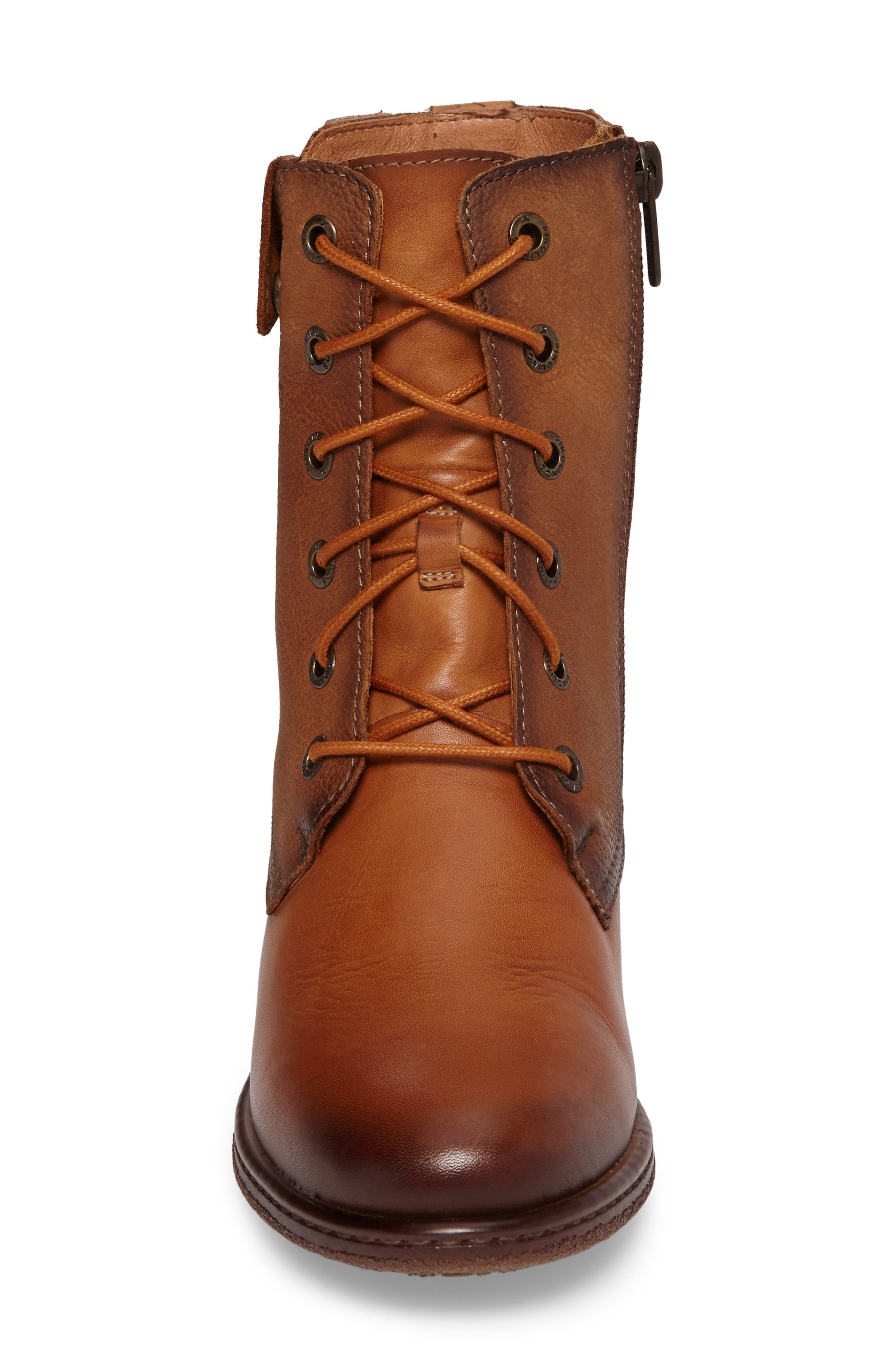Zaragoza Water Resistant Lace-Up Boot,                             Alternate thumbnail 4, color,                             207